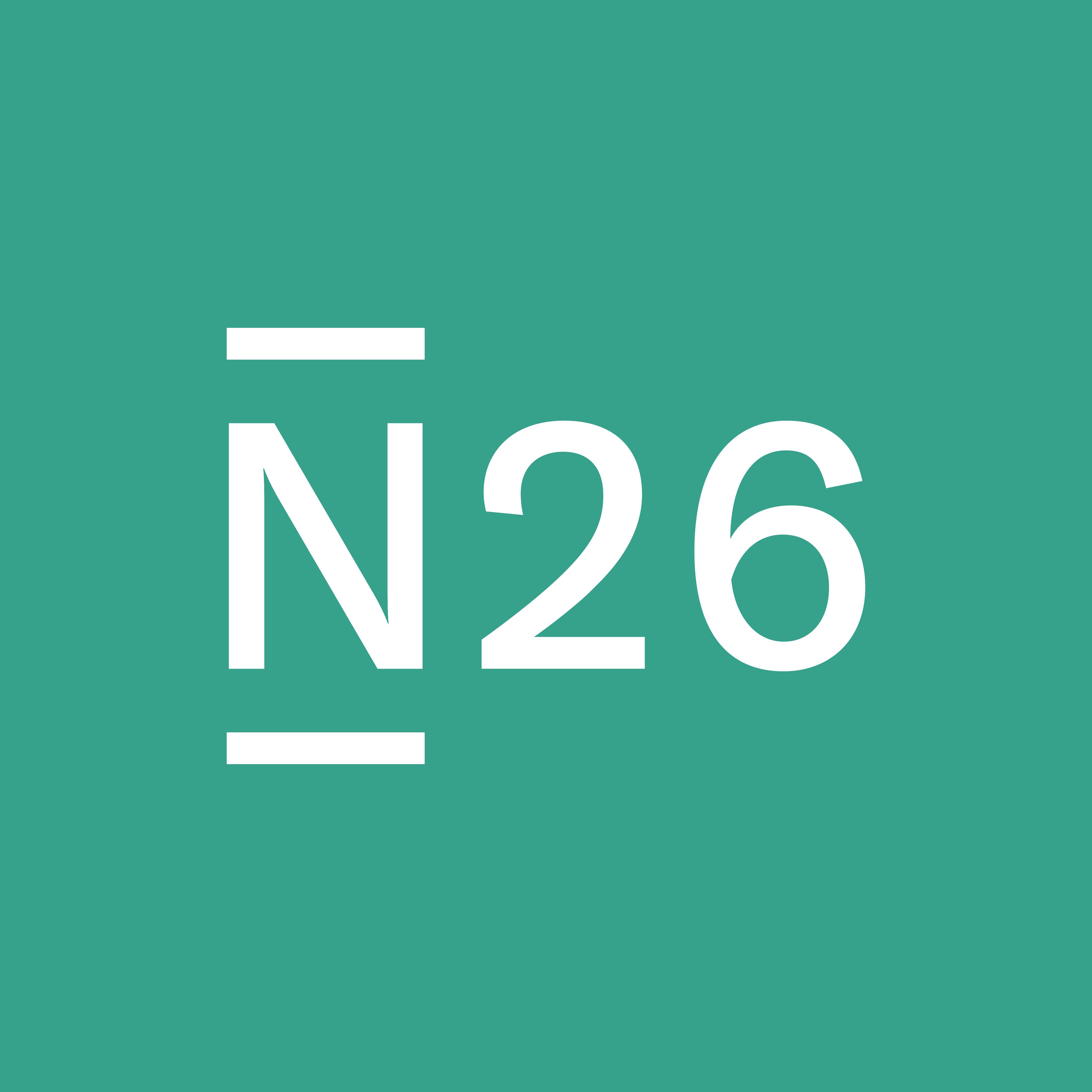 N26 Logo PNG.