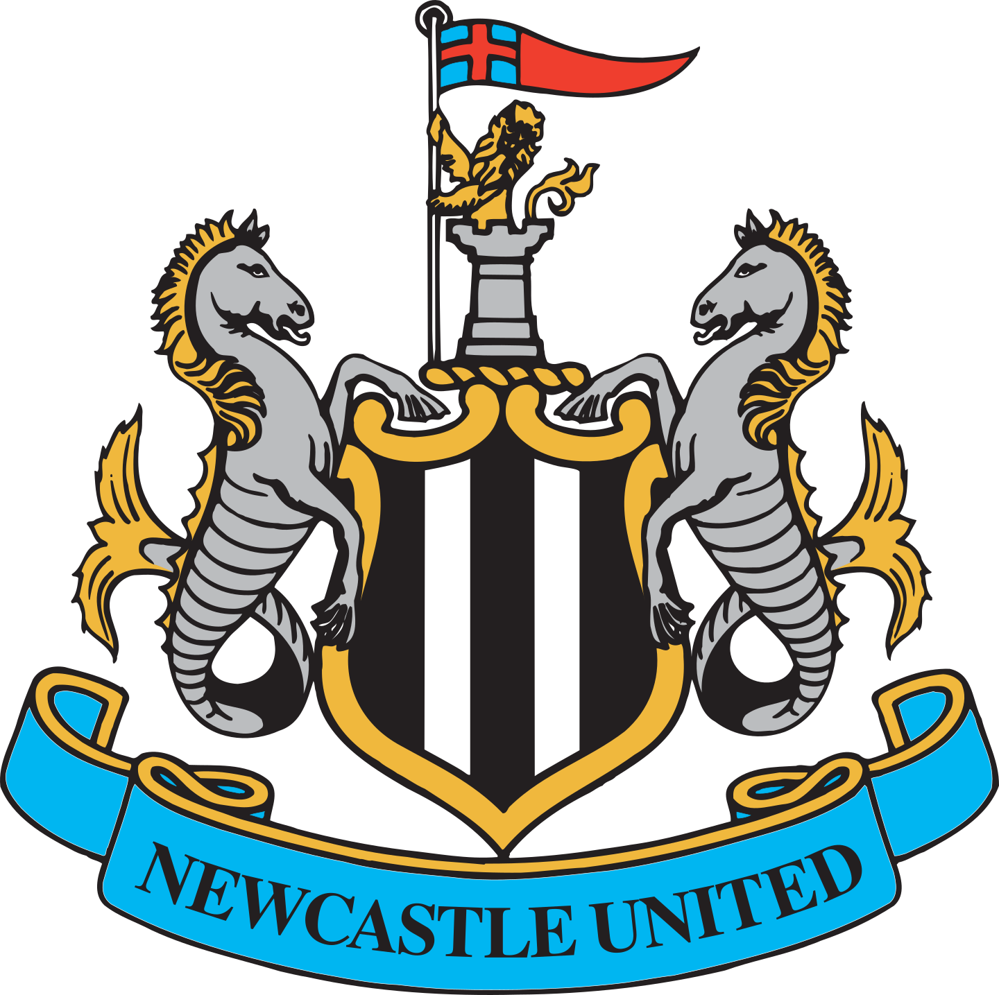 newcastle united logo 2 - Newcastle United FC Logo