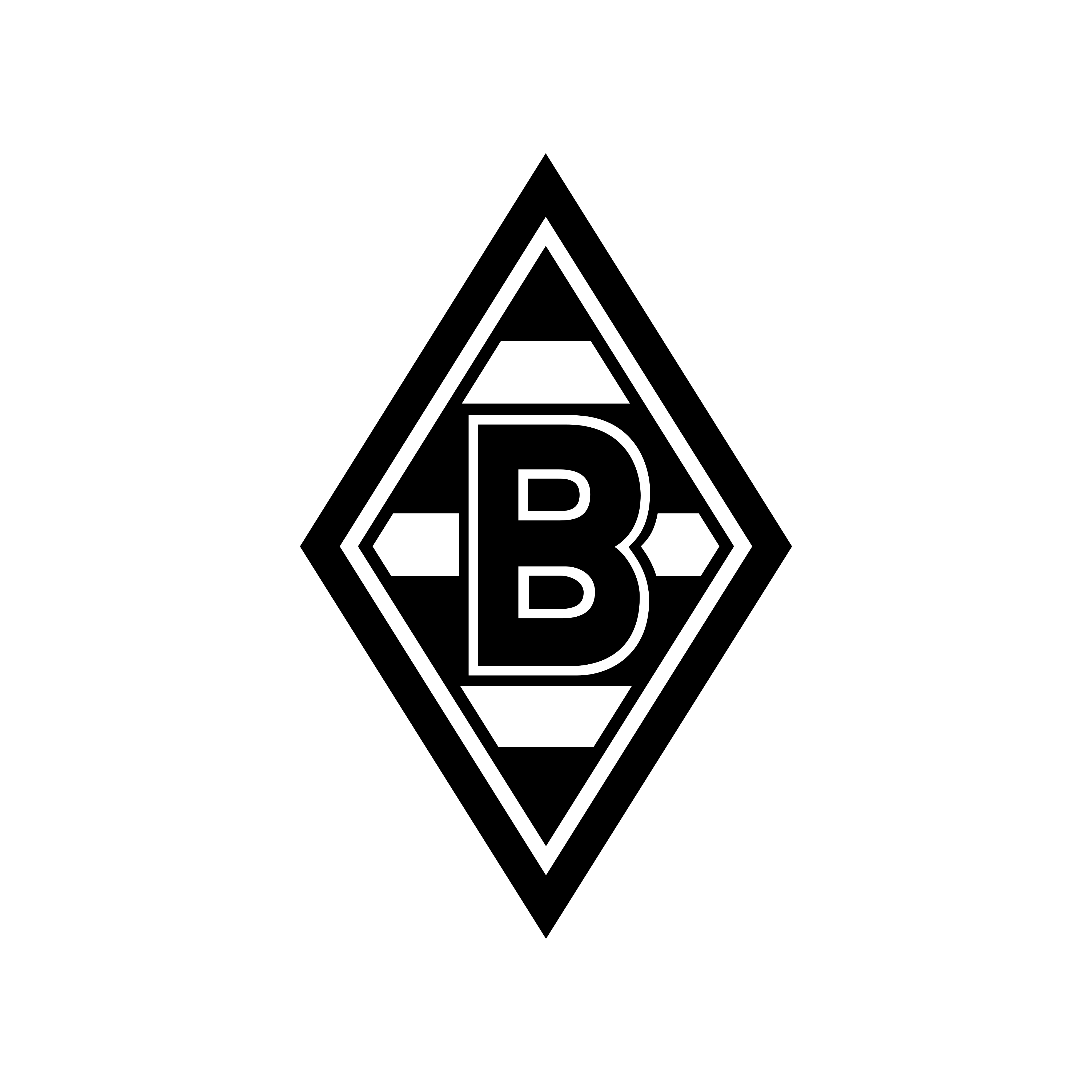 borussia monchengladbach logo 0 - Borussia Mönchengladbach Logo