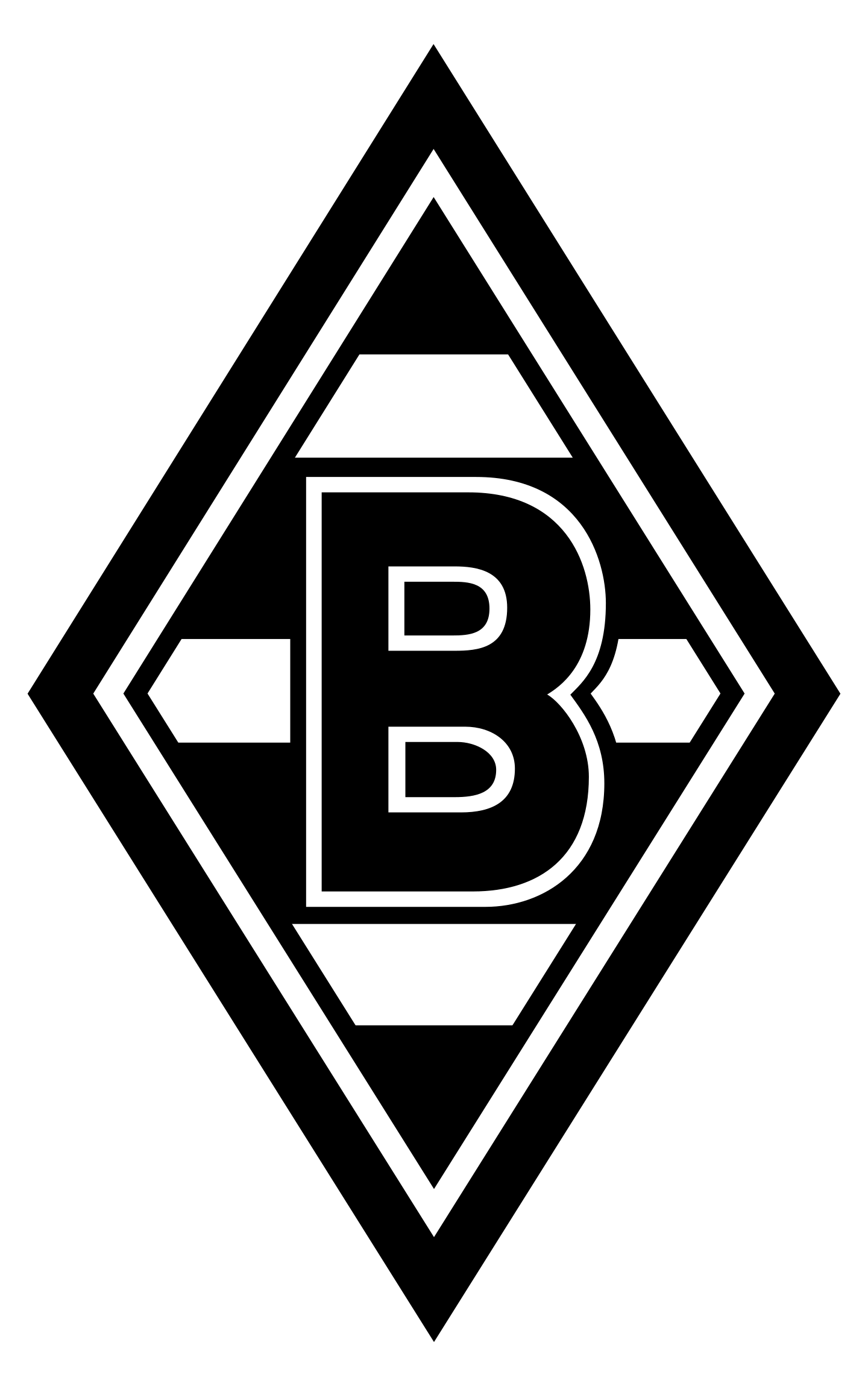 borussia monchengladbach logo 2 - Borussia Mönchengladbach Logo