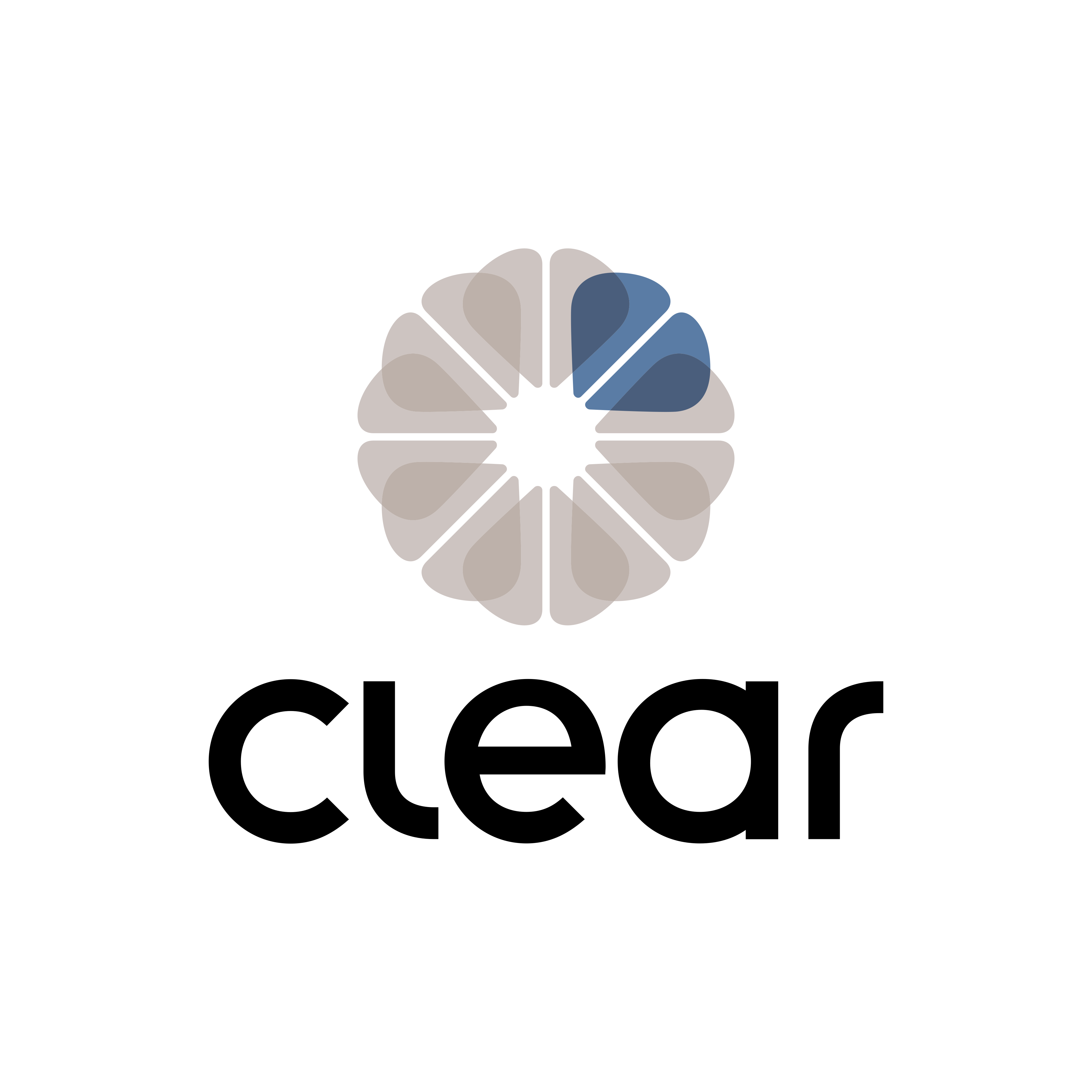 Clear Corretora Logo PNG.