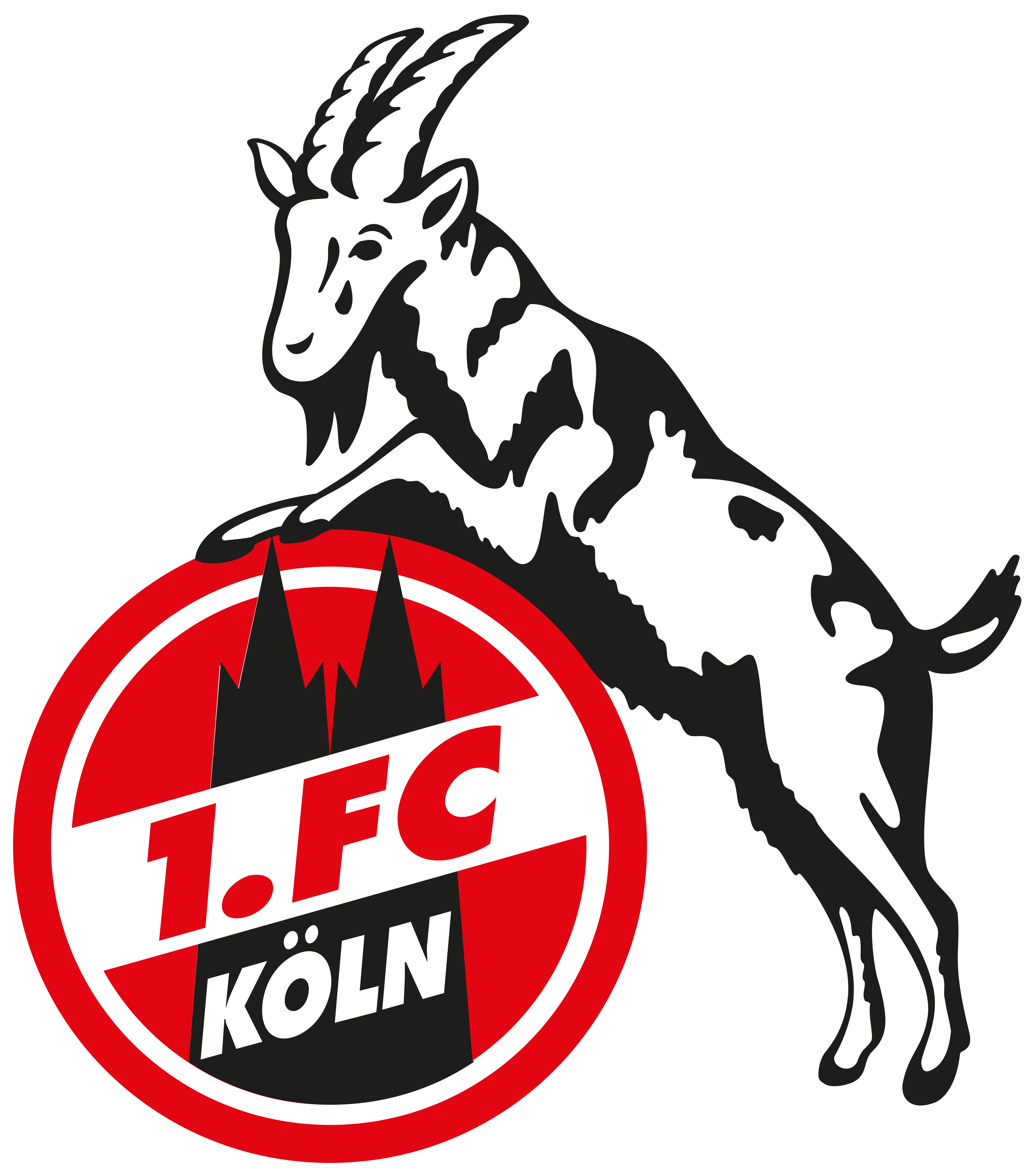1 FC Köln Logo.