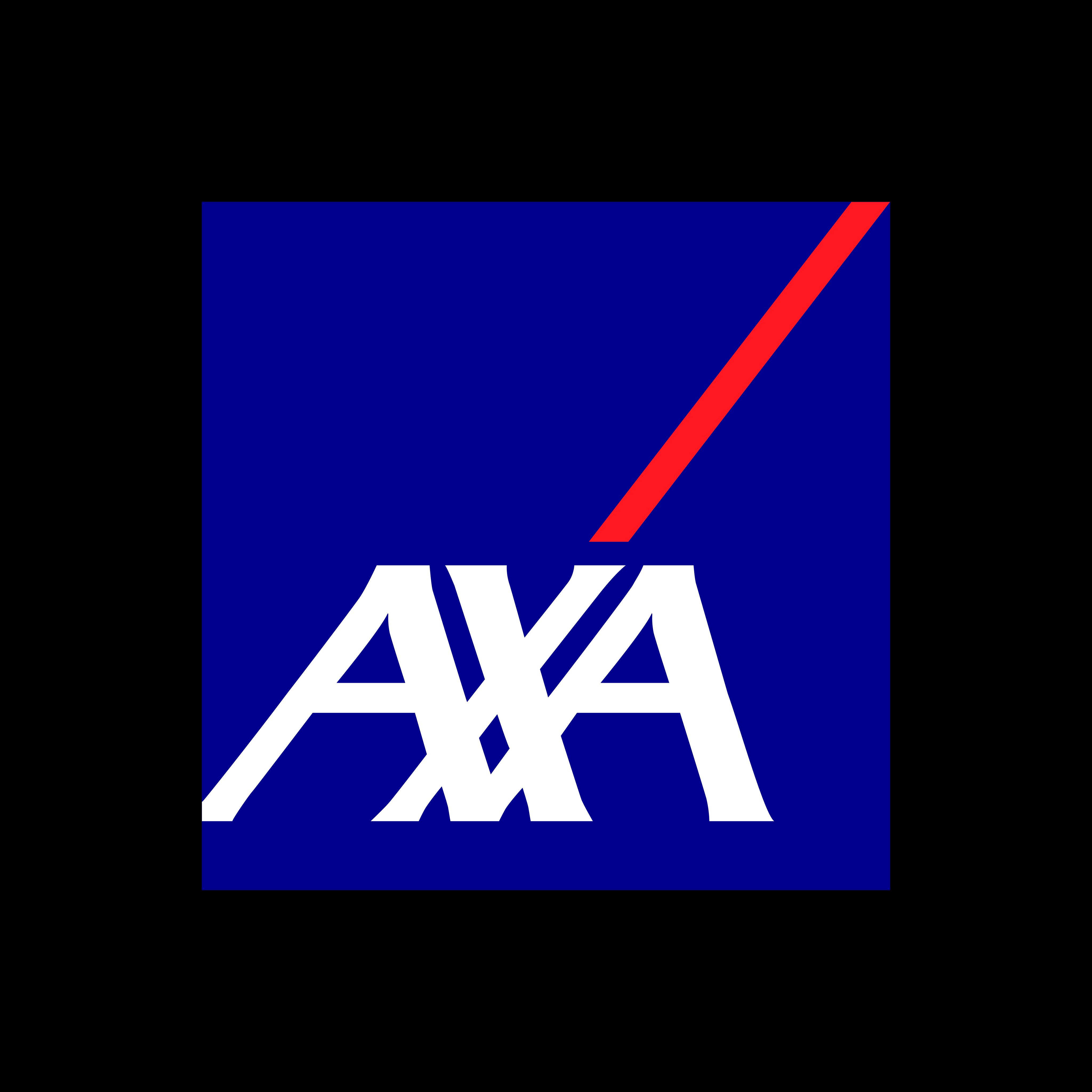 axa logo 0 - AXA Logo