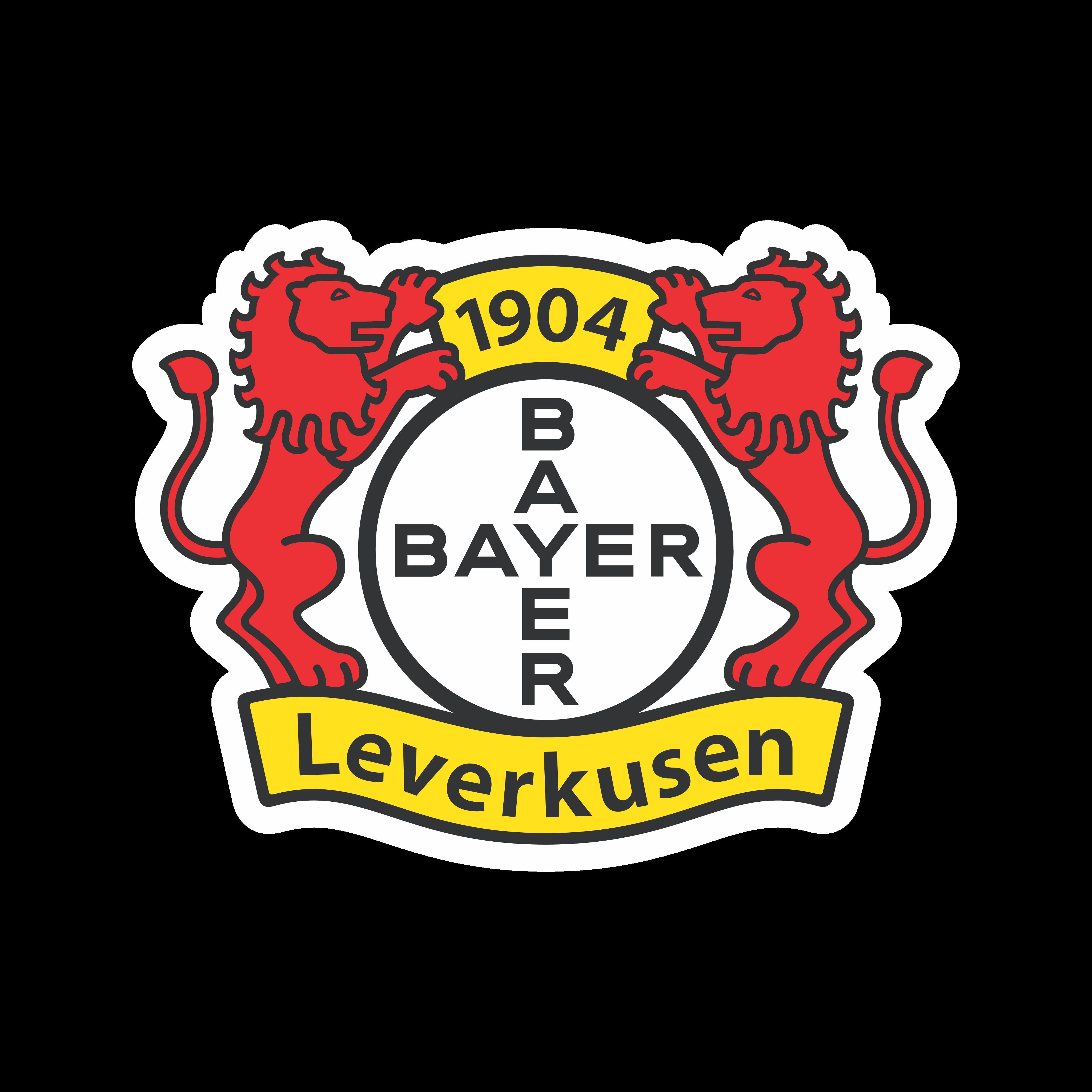 Bayer 04 Leverkusen Logo PNG.