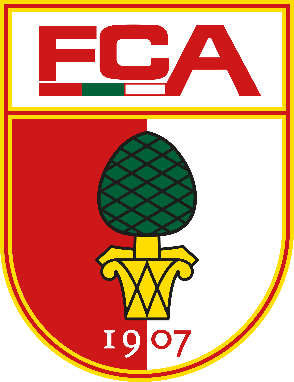 fc augsburg logo 1 - FC Augsburg Logo