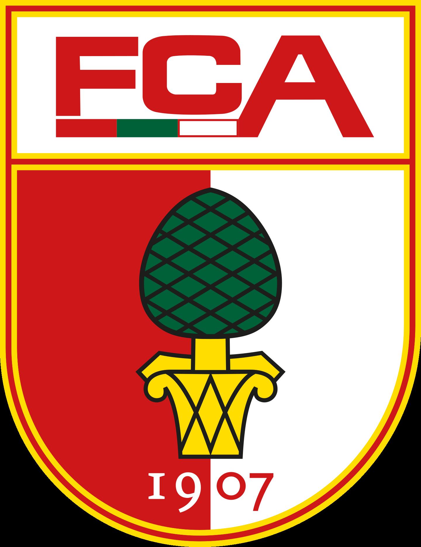 fc augsburg logo 2 - FC Augsburg Logo