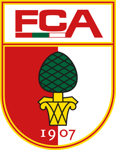 fc augsburg logo 4 - FC Augsburg Logo