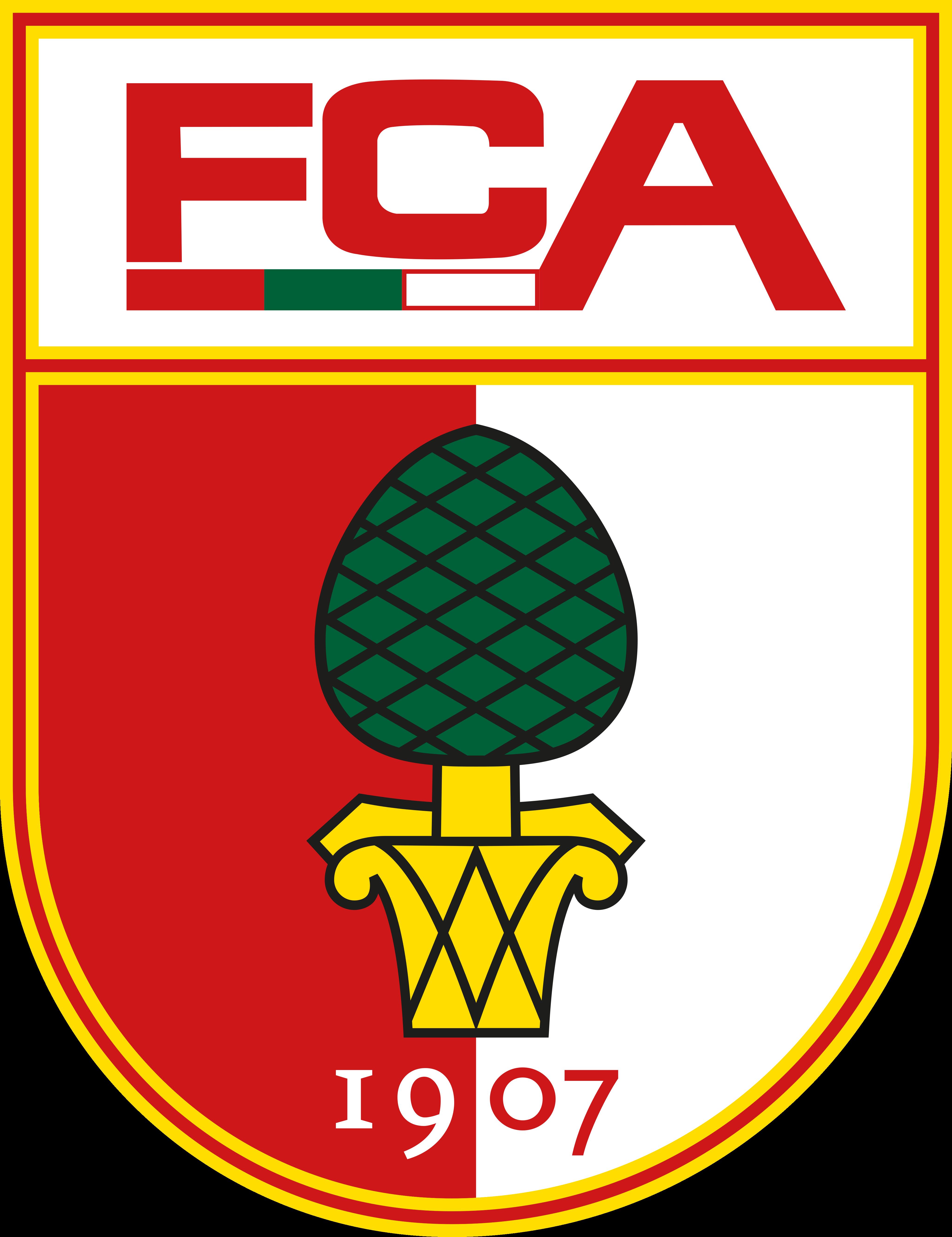 fc augsburg logo - FC Augsburg Logo