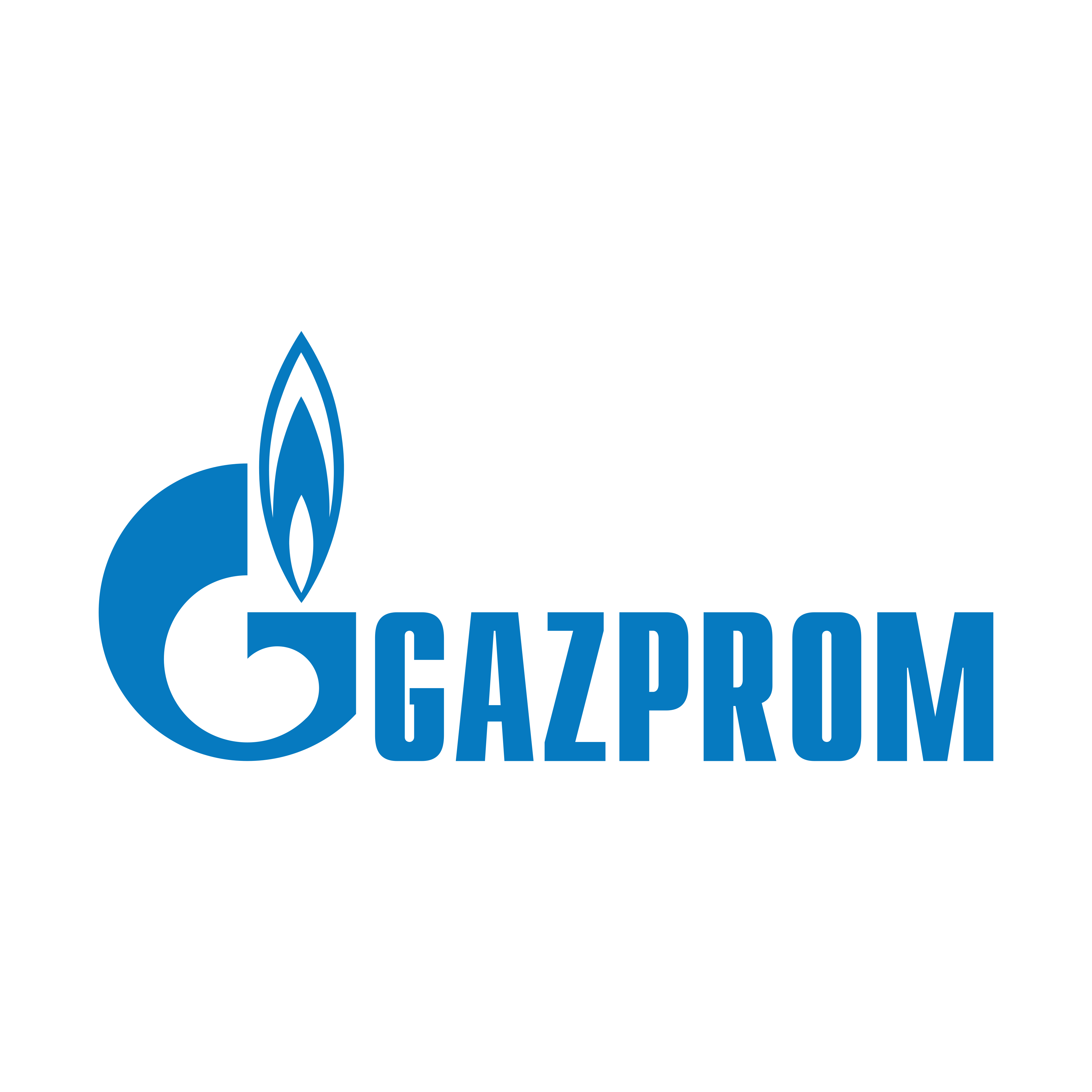 Gazprom Logo PNG.