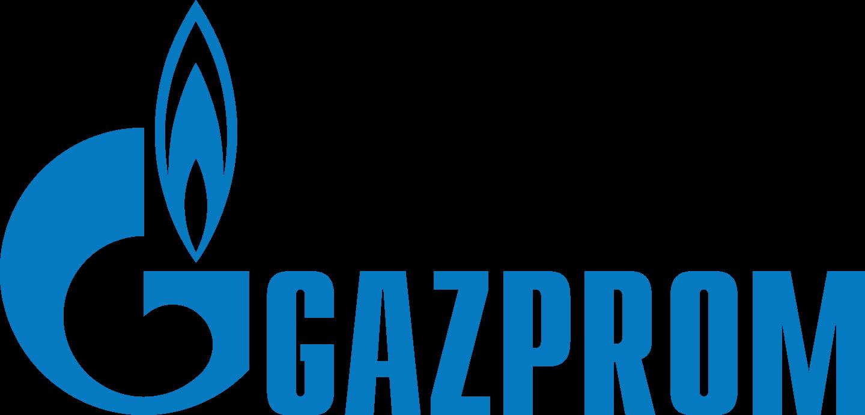 Gazprom Logo.