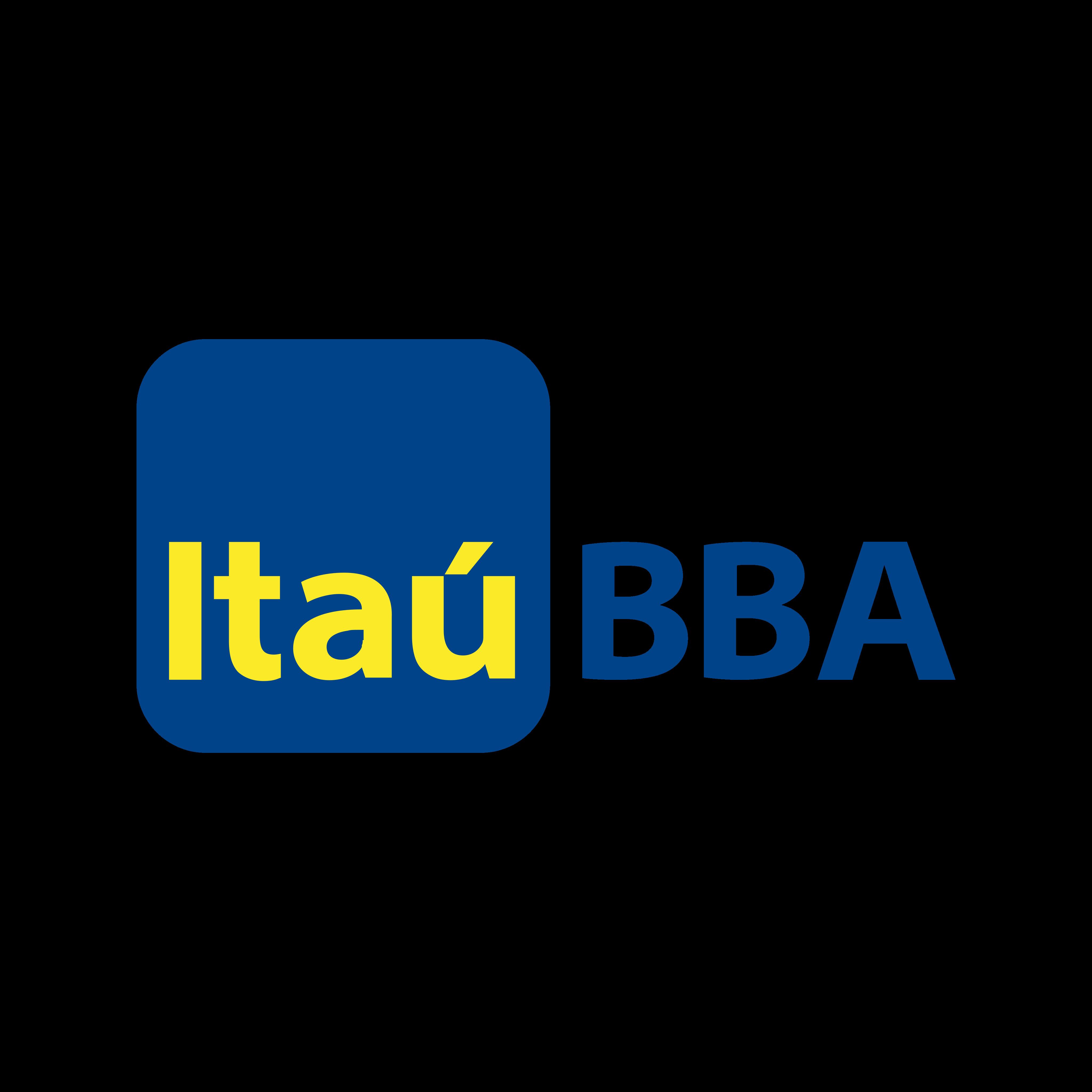 Itaú BBA Logo PNG.