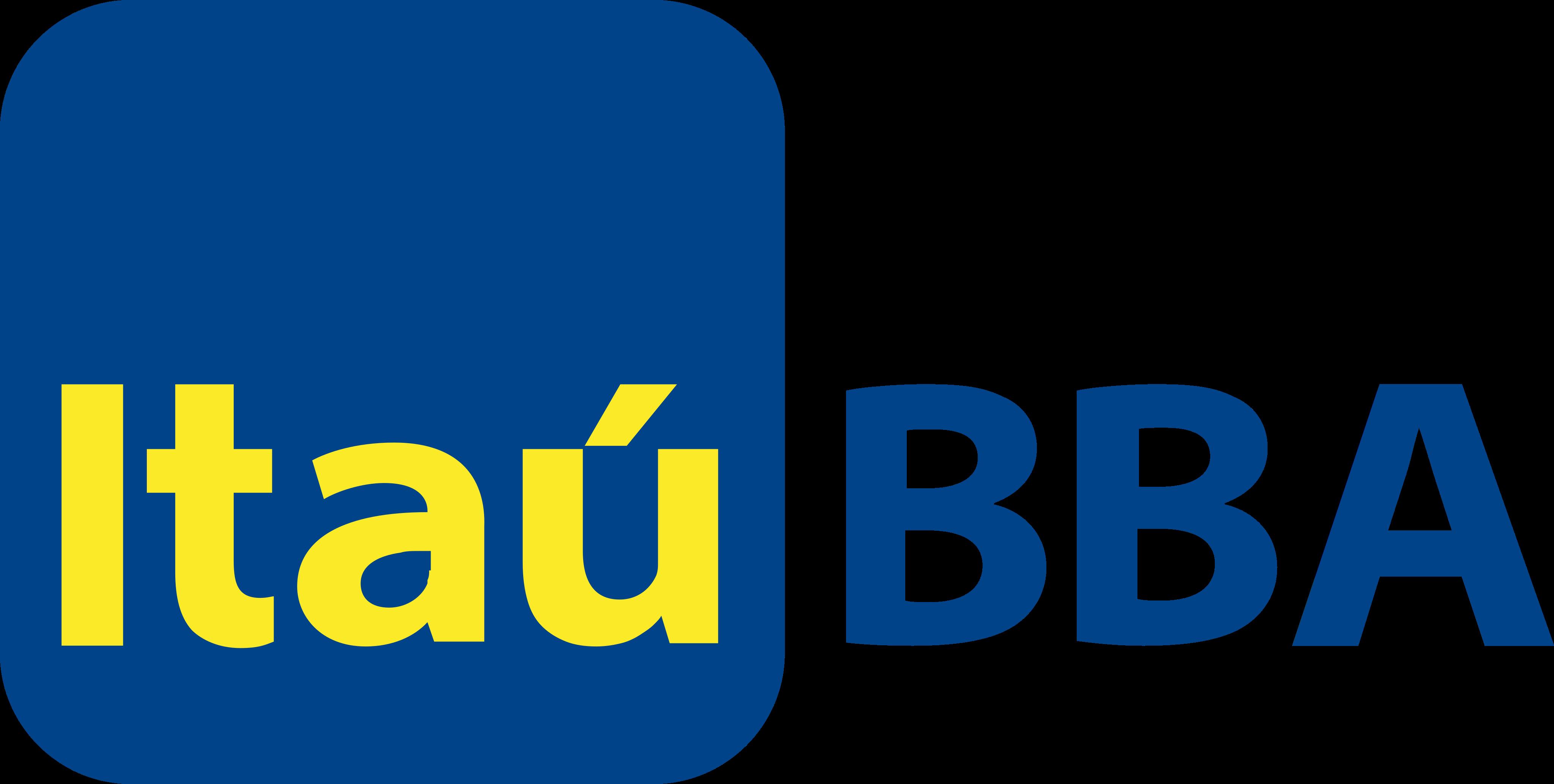 Itaú BBA Logo.