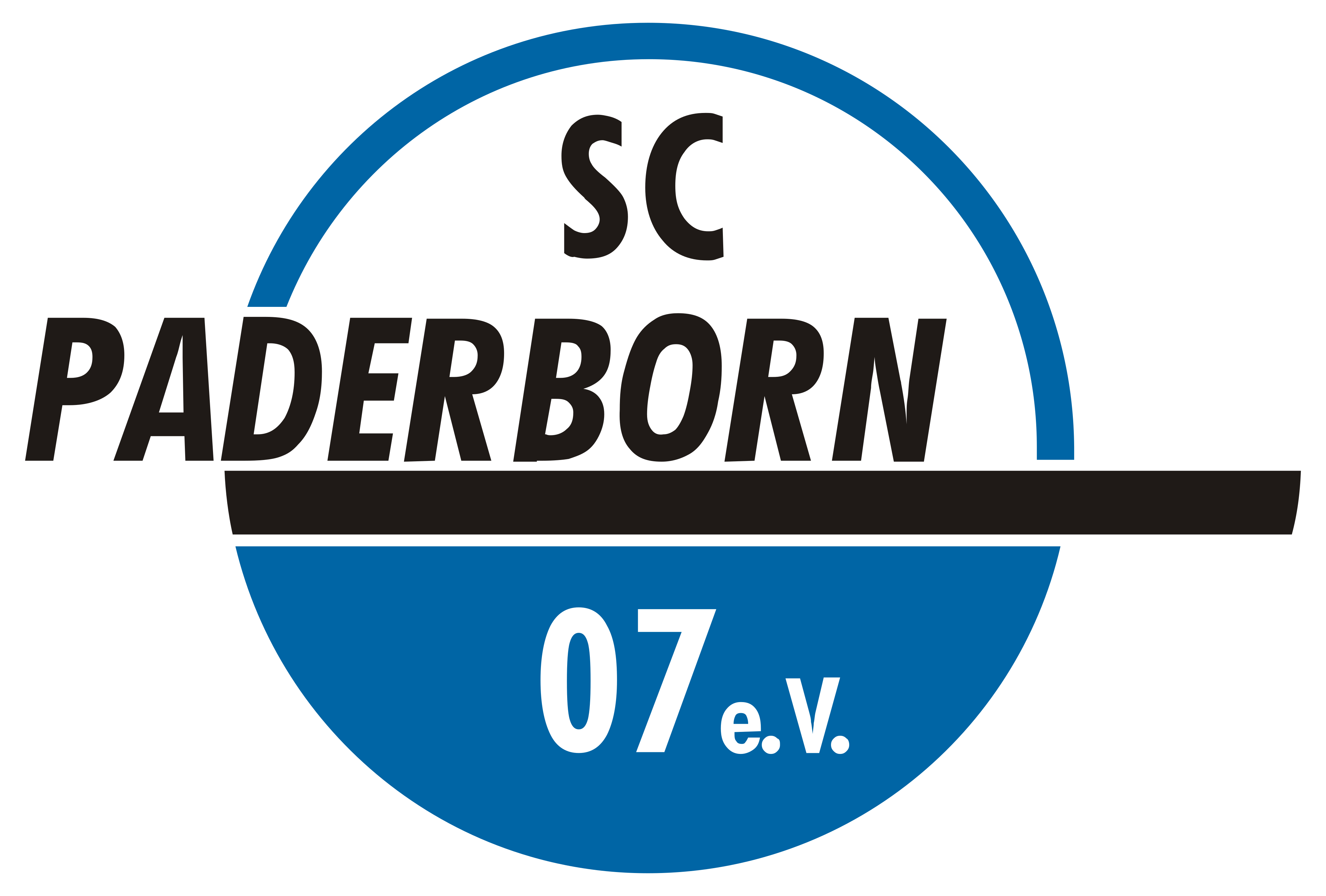 paderborn logo - SC Paderborn 07 Logo