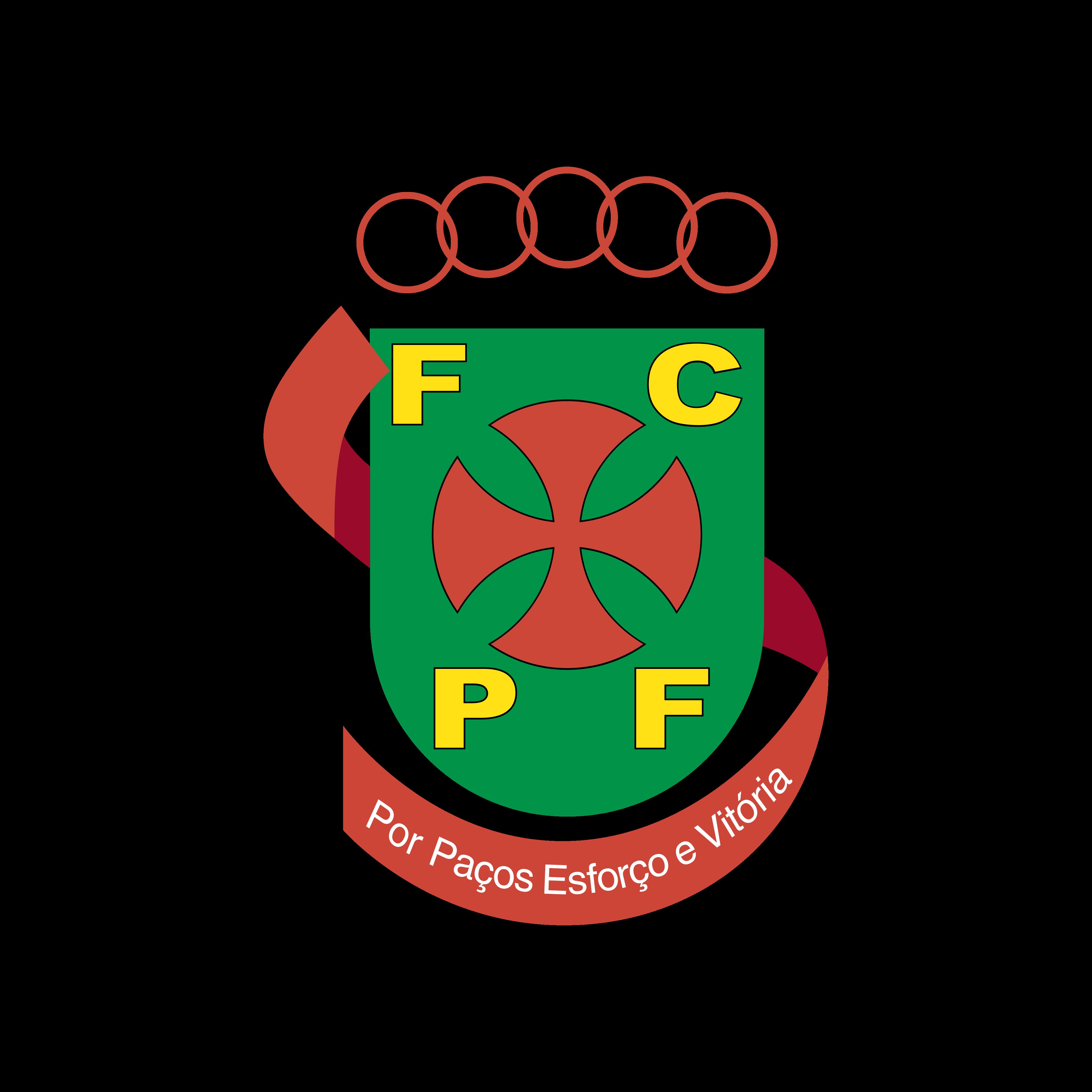 fc pacos de ferreira logo 0 - FC Paços de Ferreira Logo