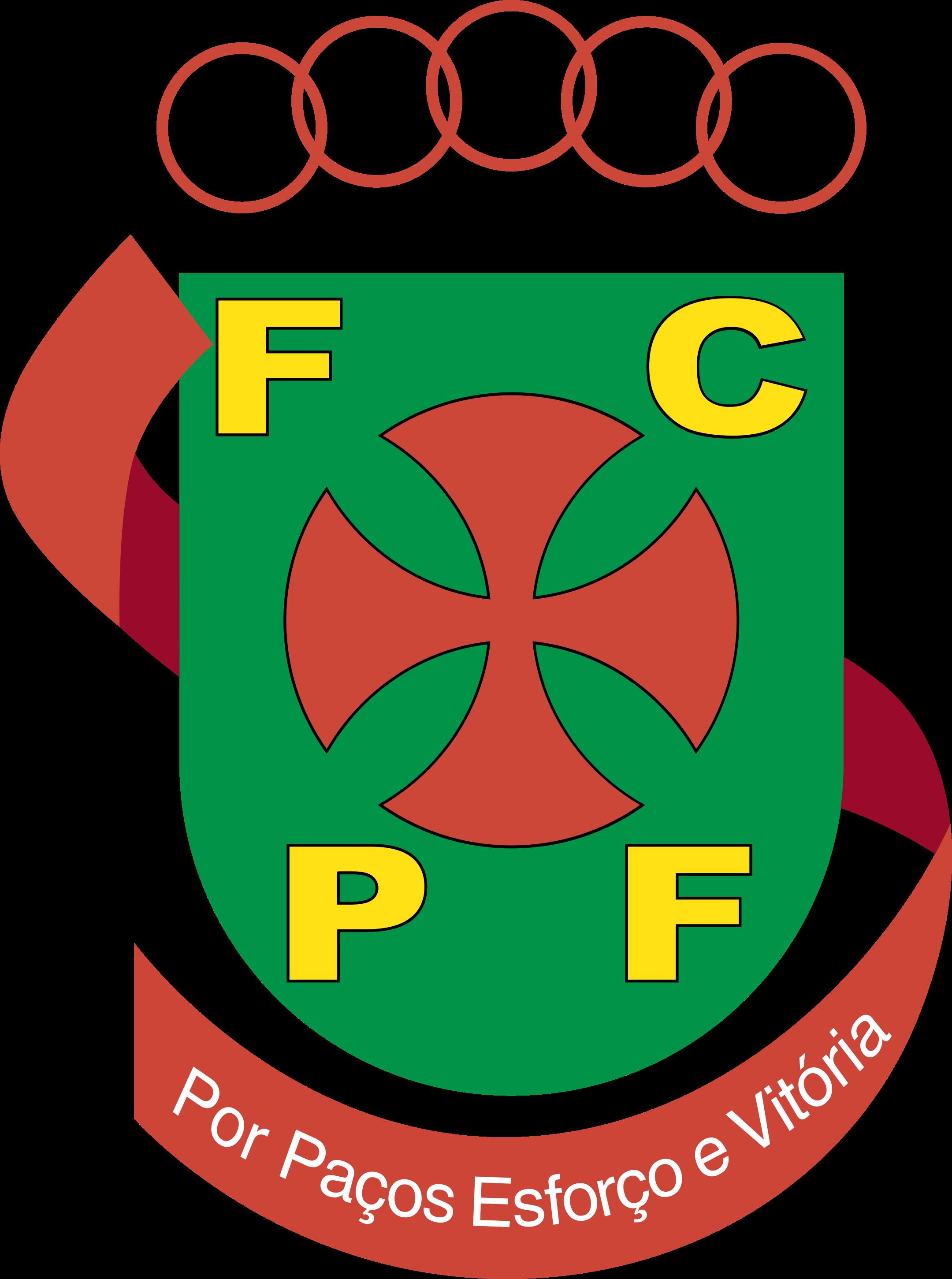 fc pacos de ferreira logo 1 - FC Paços de Ferreira Logo