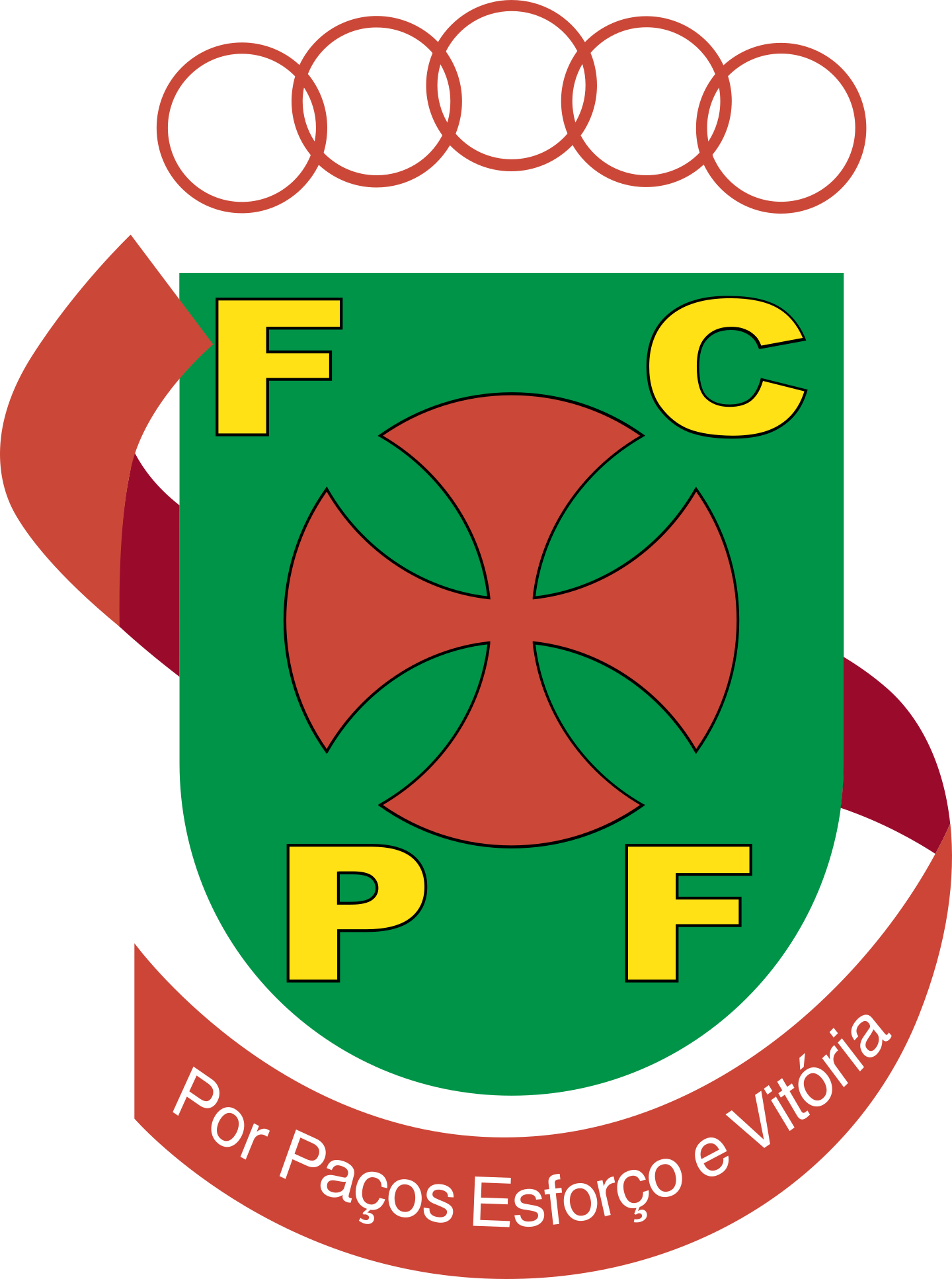 fc pacos de ferreira logo 2 - FC Paços de Ferreira Logo