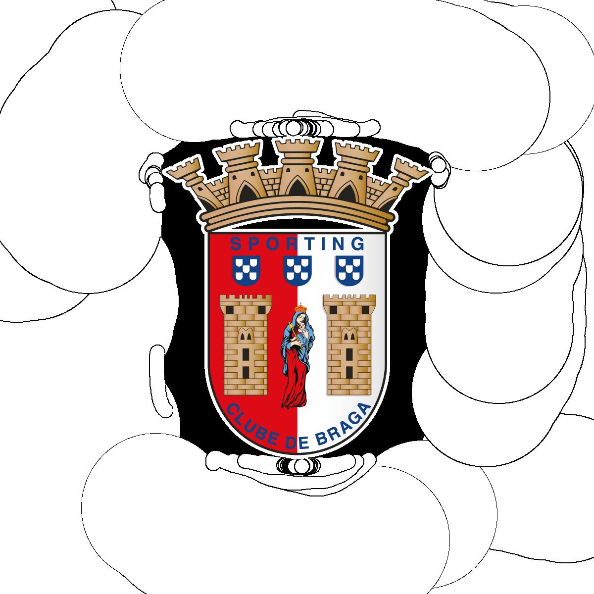 sc braga logo 0 - SC Braga Logo