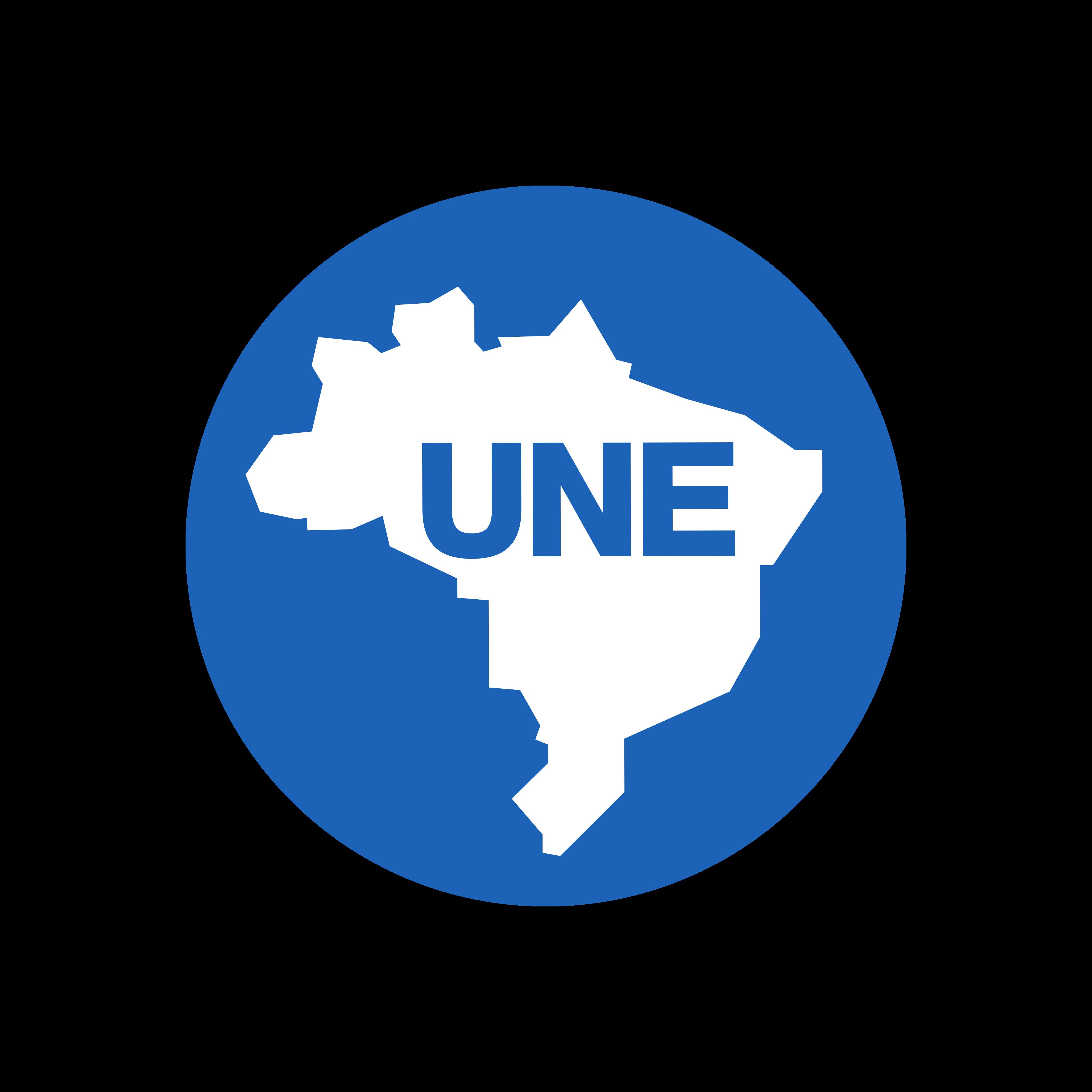 une logo 0 - UNE Logo - União Nacional dos Estudantes