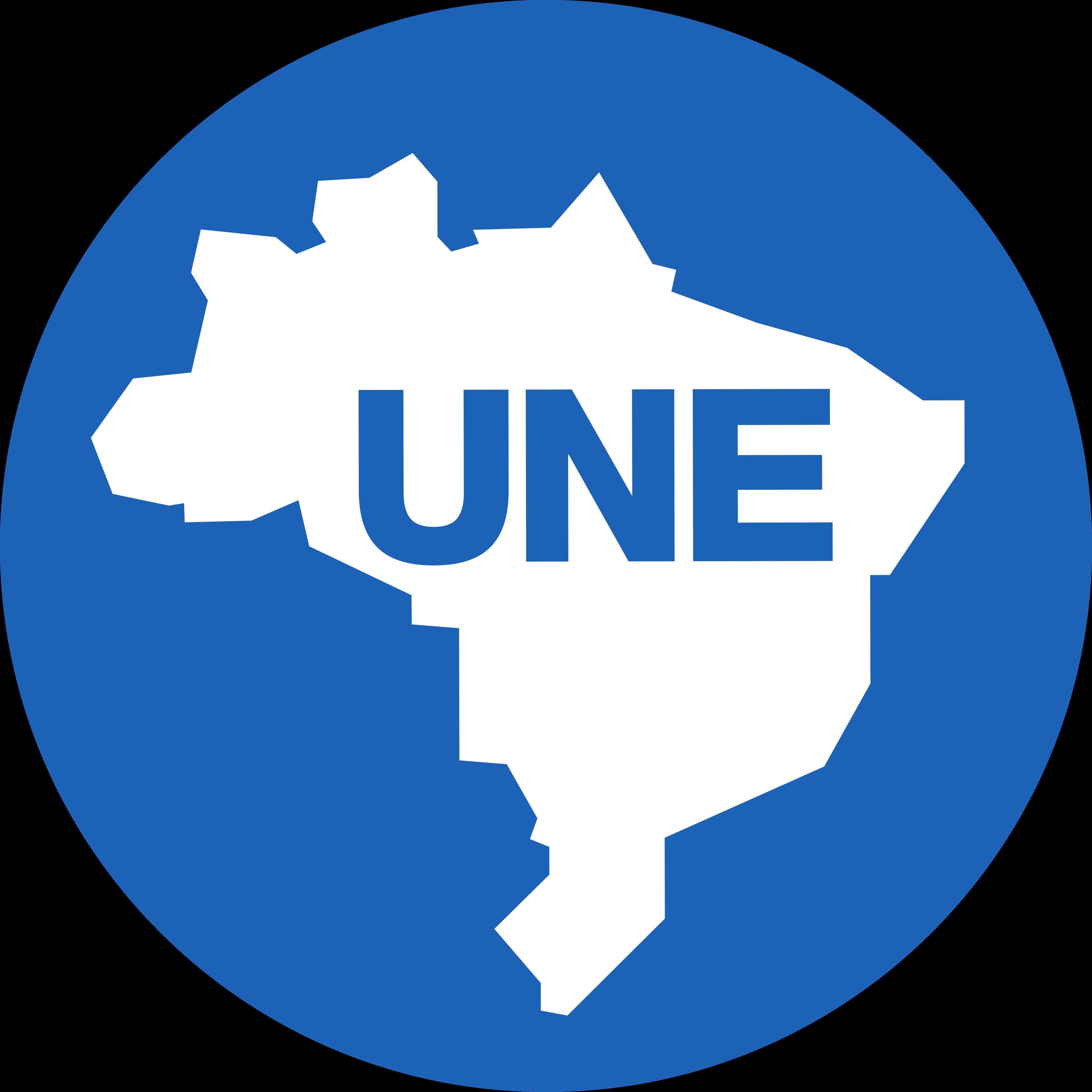 une logo 1 - UNE Logo - União Nacional dos Estudantes