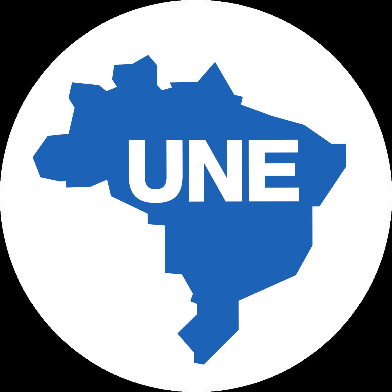 une logo 2 - UNE Logo - União Nacional dos Estudantes