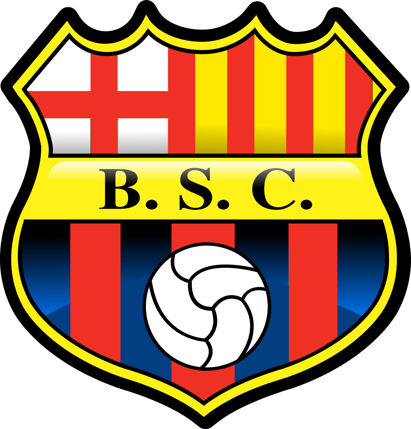 barcelona guayaquil logo 2 - Barcelona SC Guayaquil Logo
