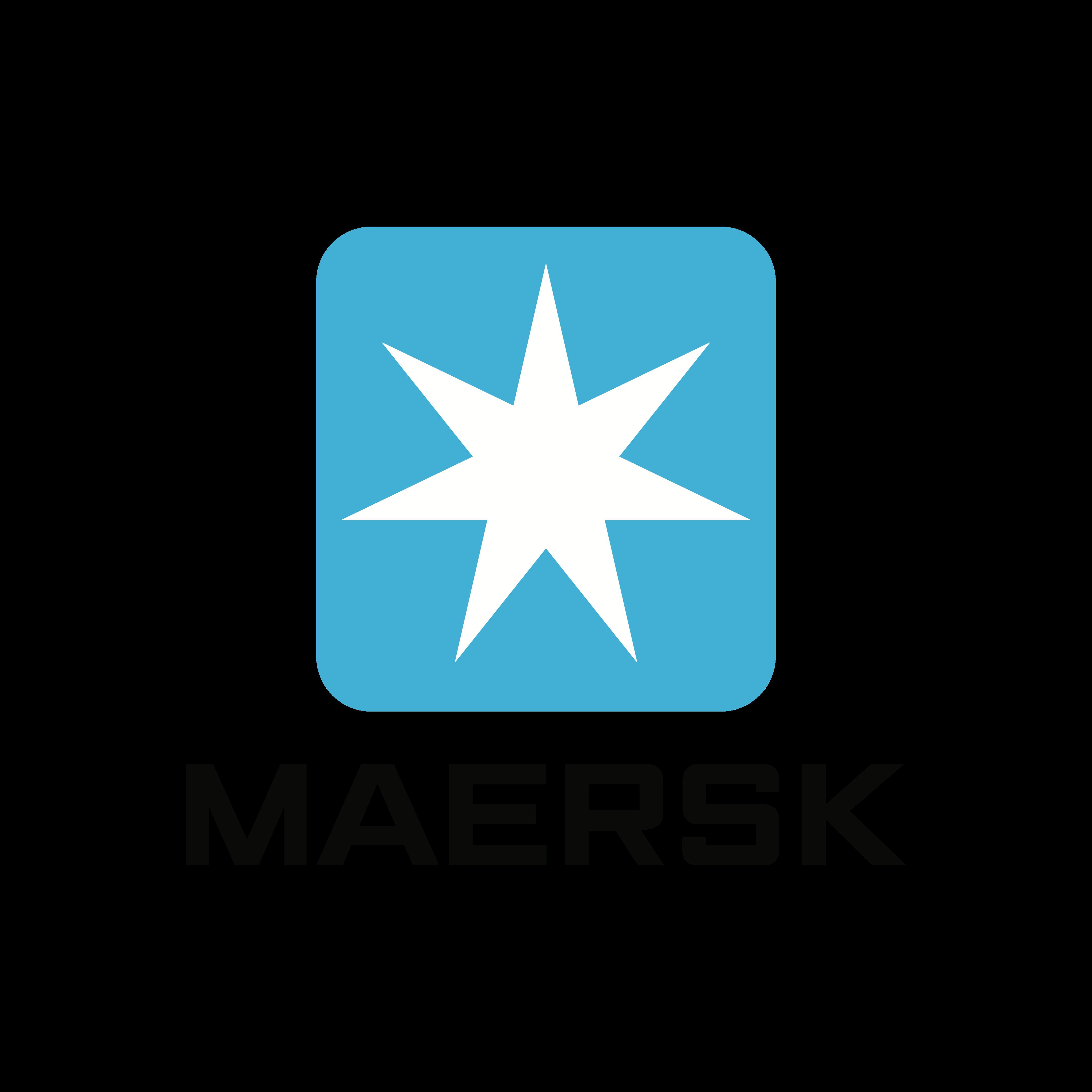 maersk logo 0 - Maersk Logo