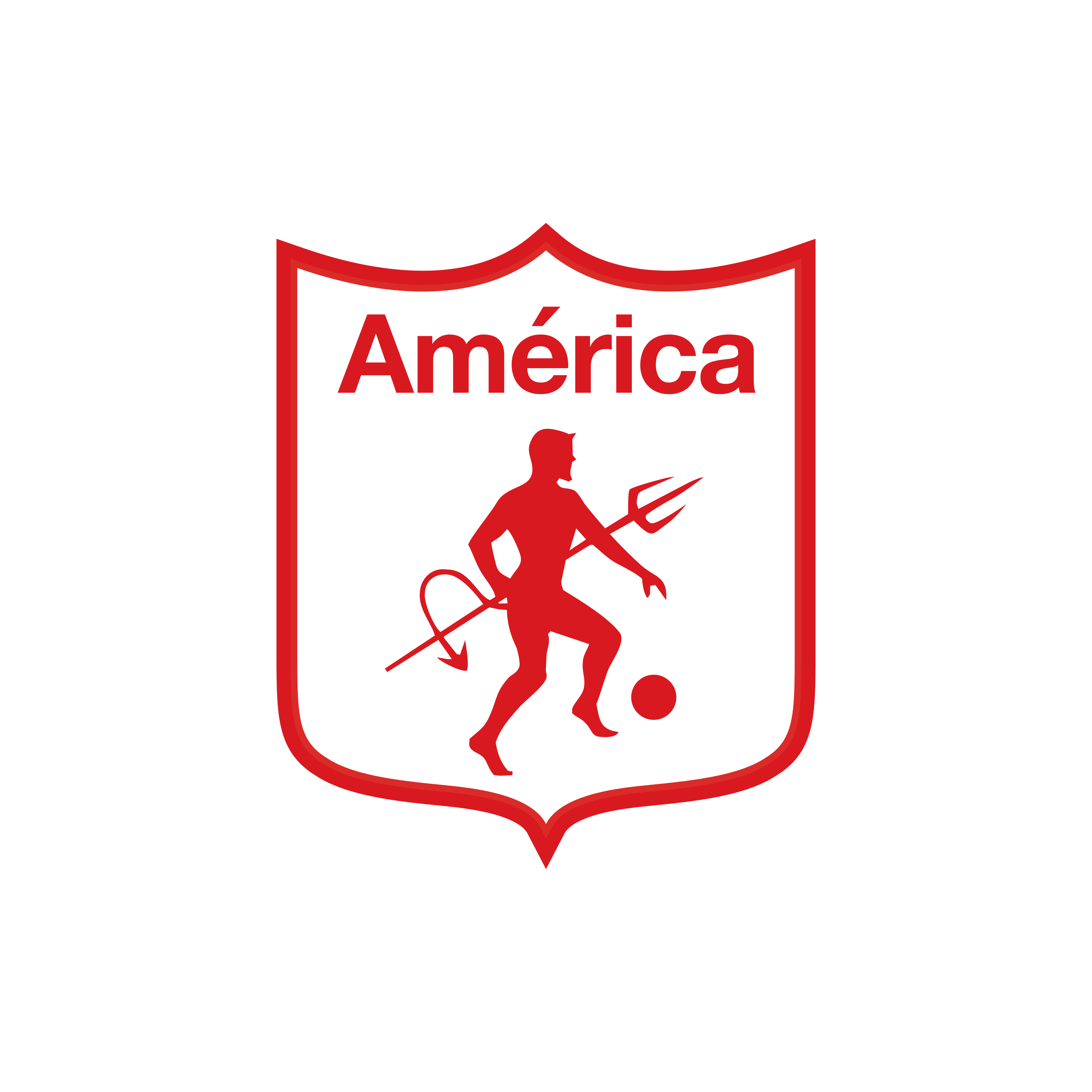america de cali logo 0 - América de Cali Logo - Escudo
