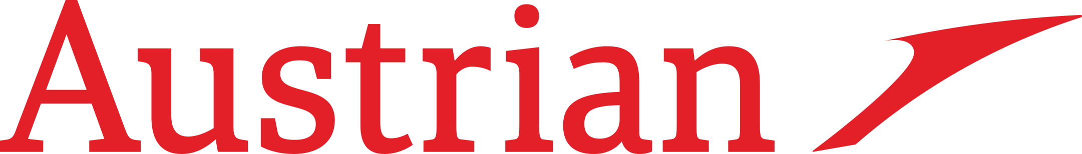 austrian airlines logo 1 - Austrian Airlines Logo