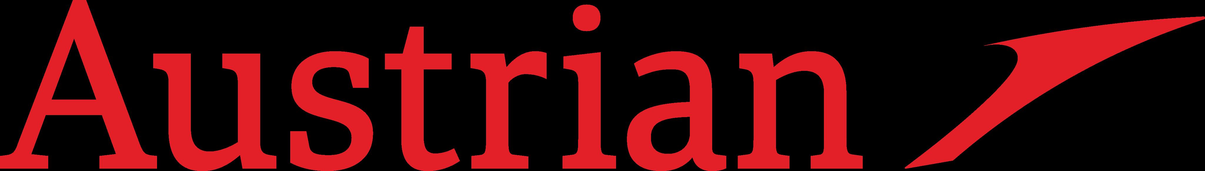 Austrian Airlines Logo.