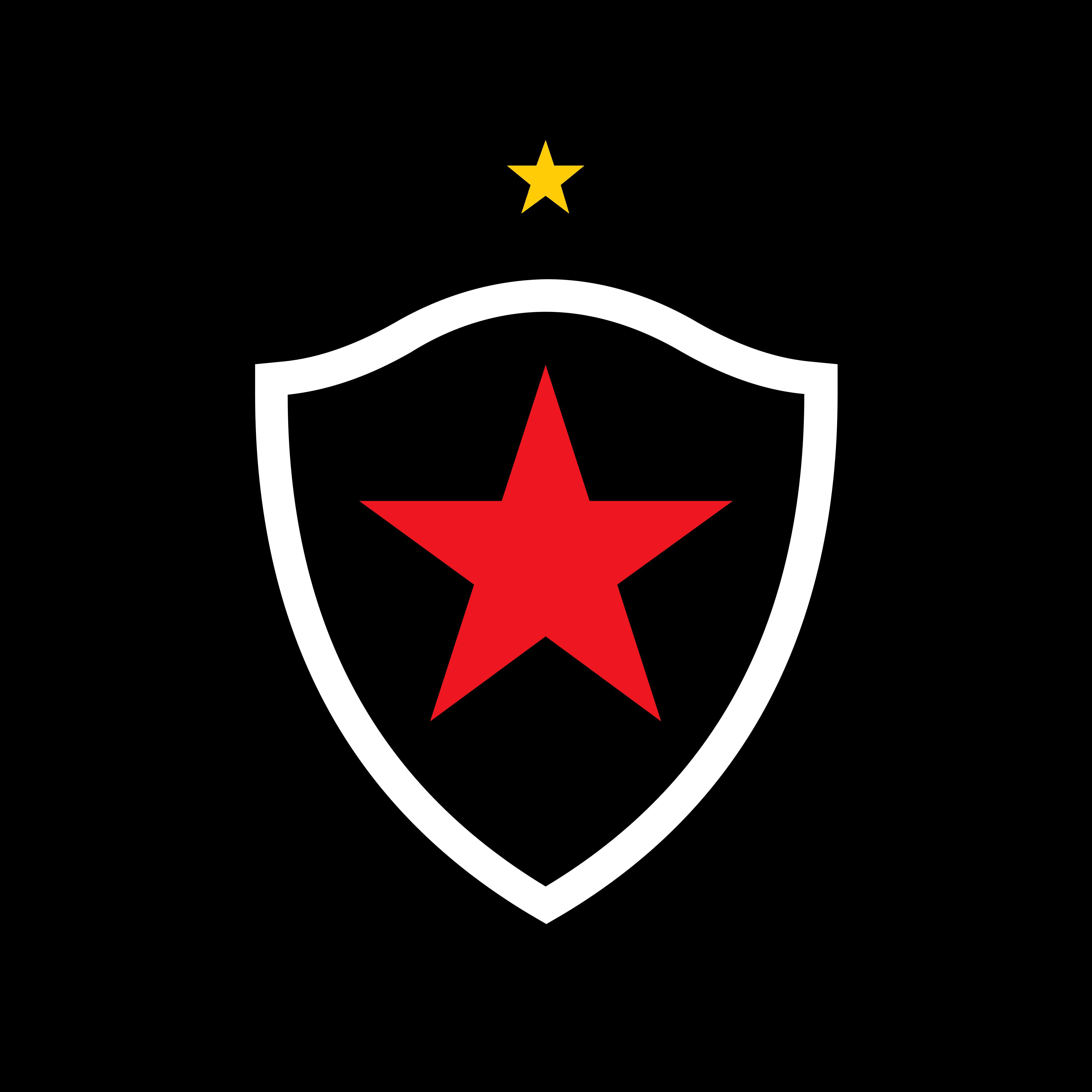 botafogo paraiba logo 0 - Botafogo da Paraíba Logo - Escudo