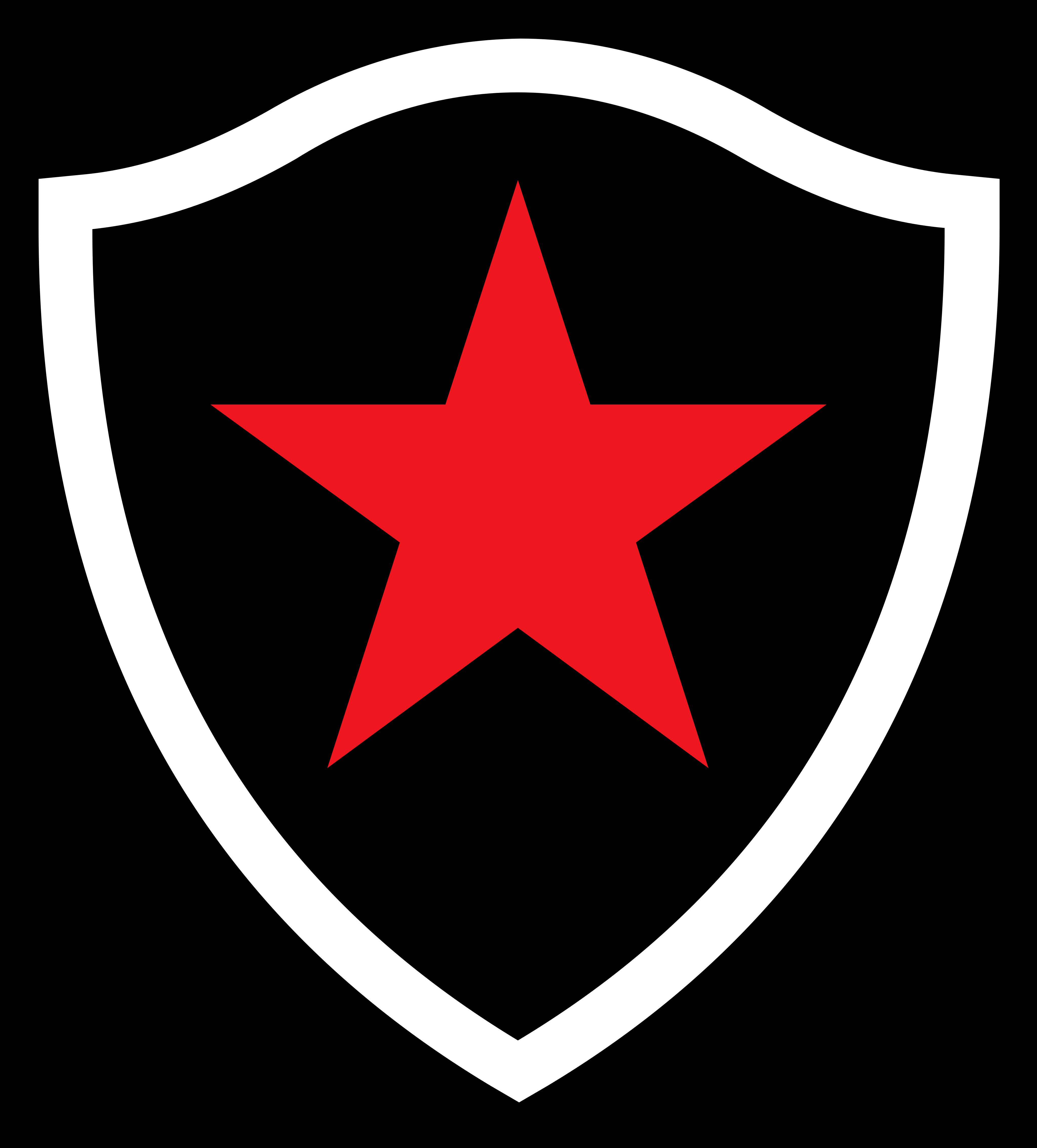 botafogo paraiba logo 01 - Botafogo da Paraíba Logo - Escudo