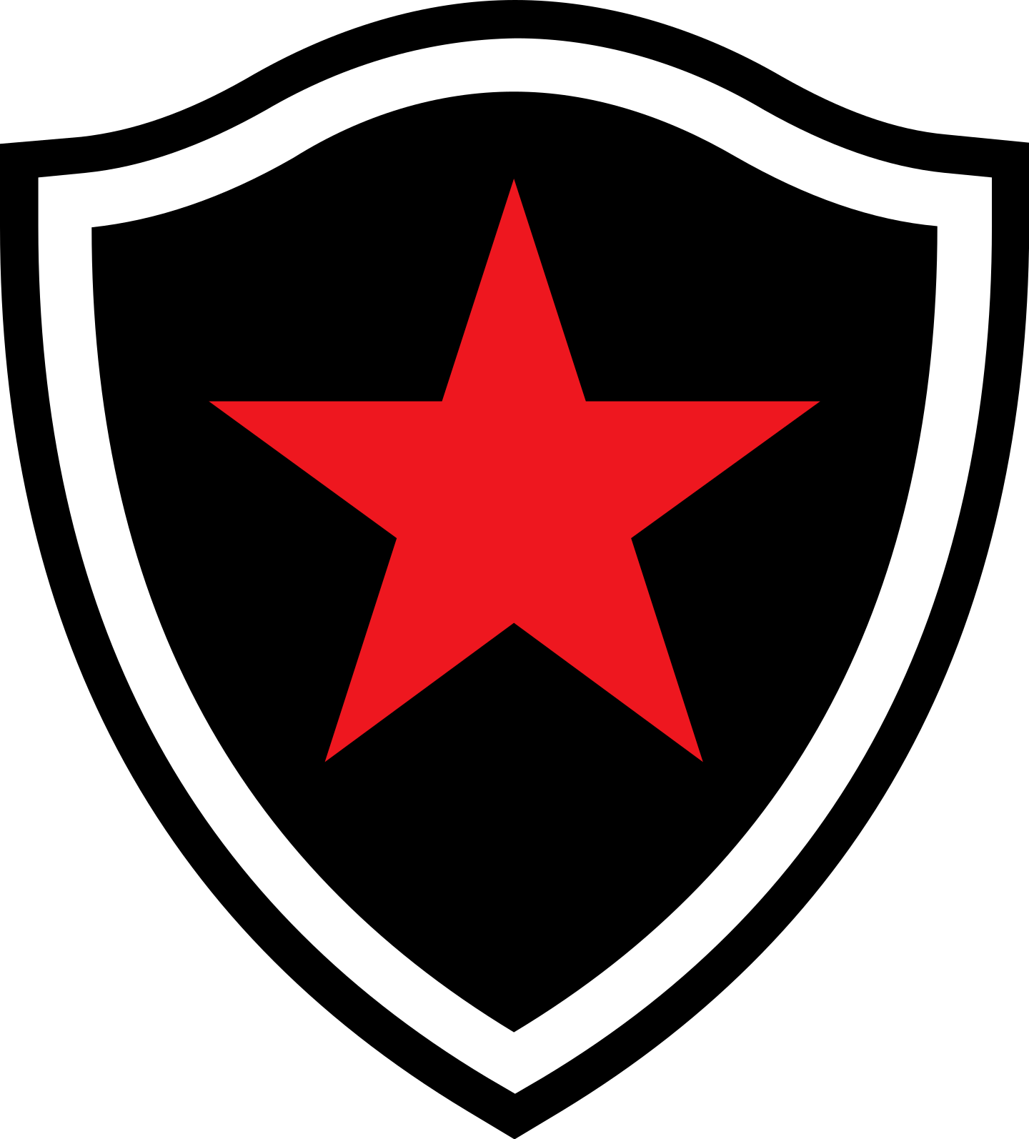 botafogo paraiba logo 03 - Botafogo da Paraíba Logo - Escudo