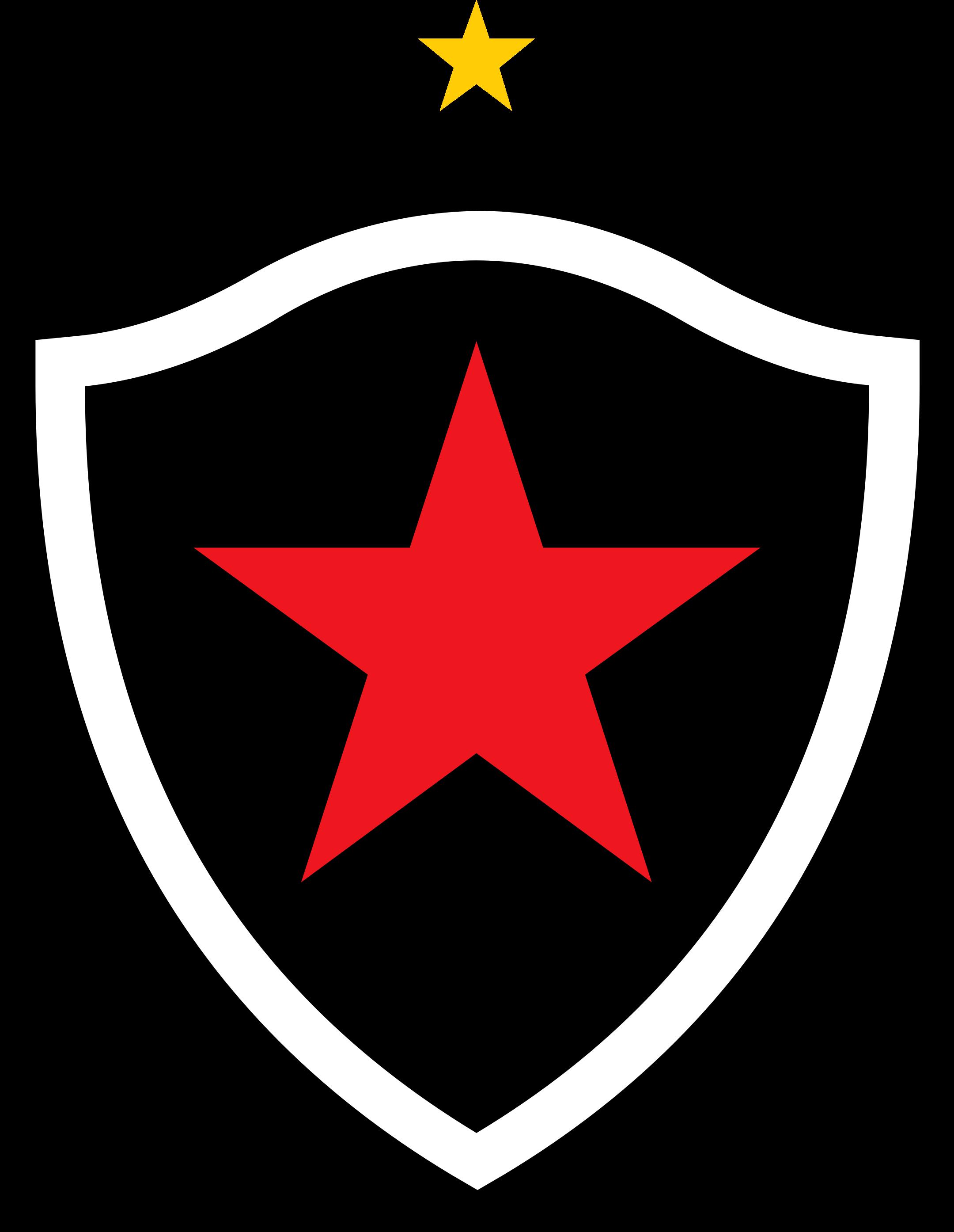 botafogo paraiba logo 1 - Botafogo da Paraíba Logo - Escudo