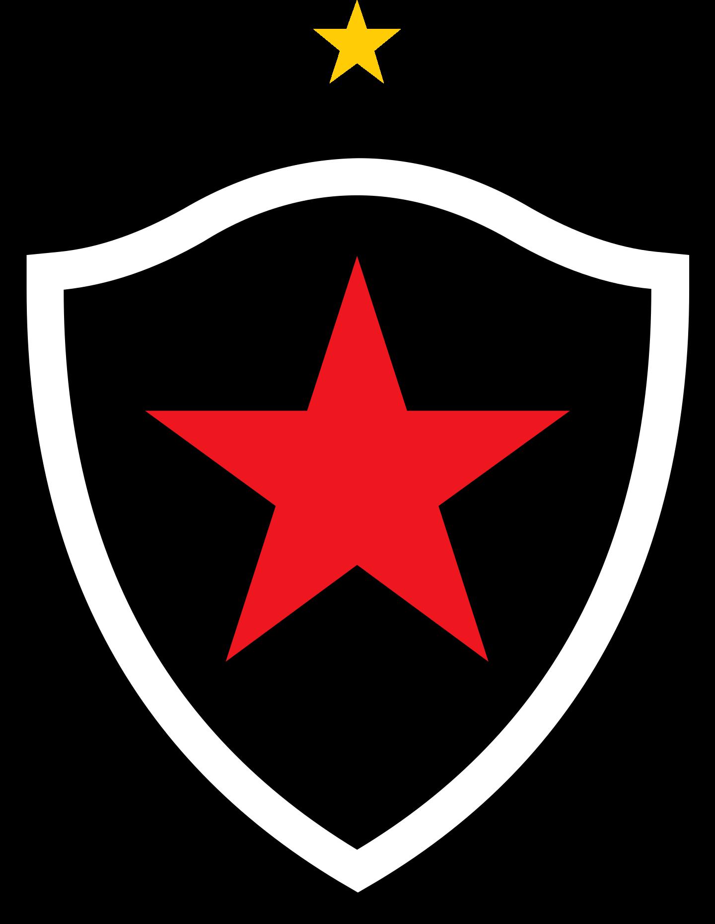 botafogo paraiba logo 2 - Botafogo da Paraíba Logo - Escudo