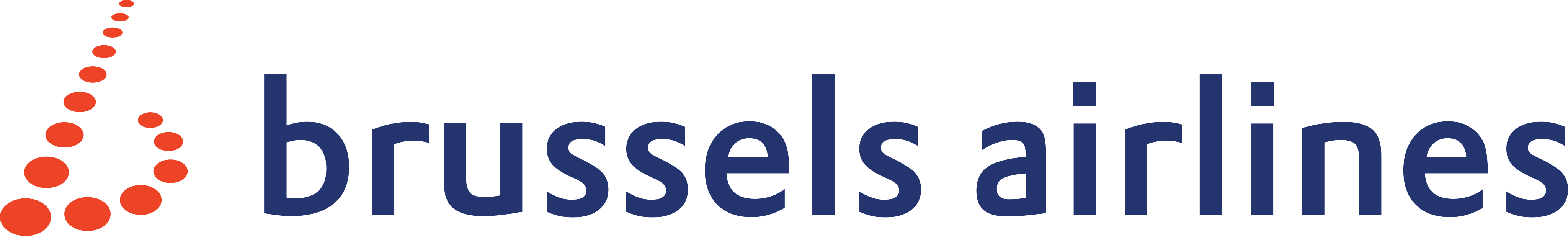 Brussels Airlines Logo.