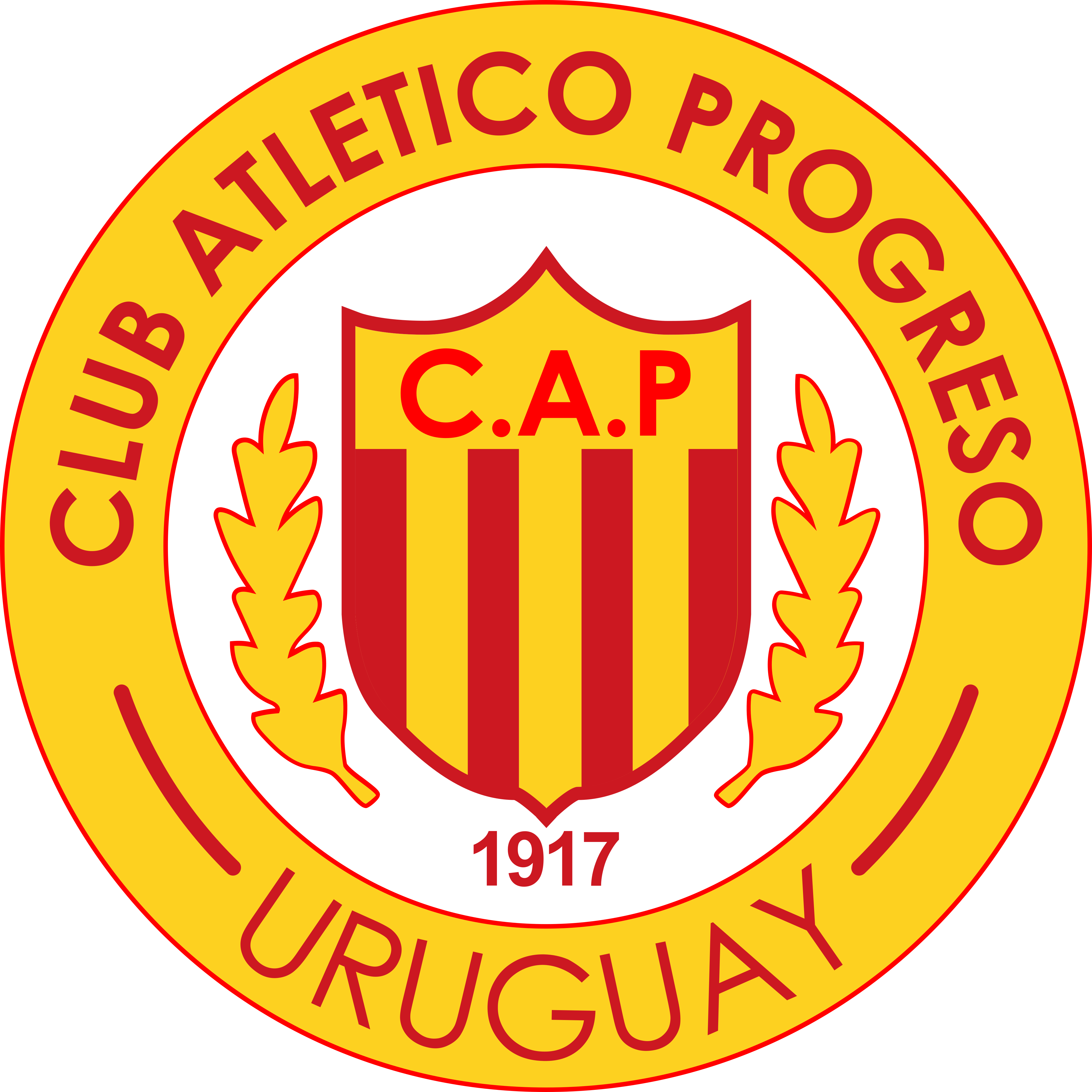 cd progreso logo escudo - Club Atlético Progreso Logo - Escudo