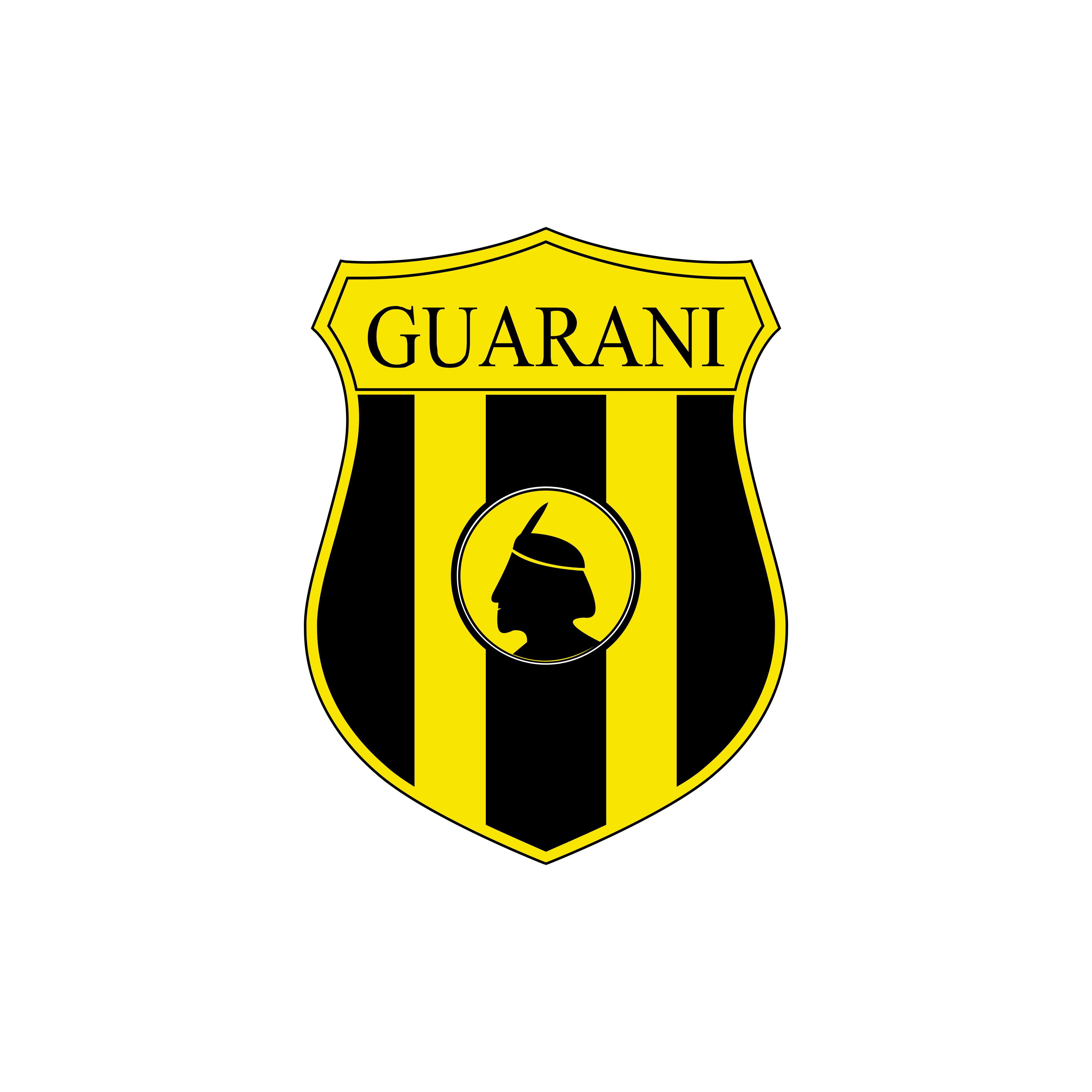club guarani logo 0 - Club Guaraní Logo – Escudo