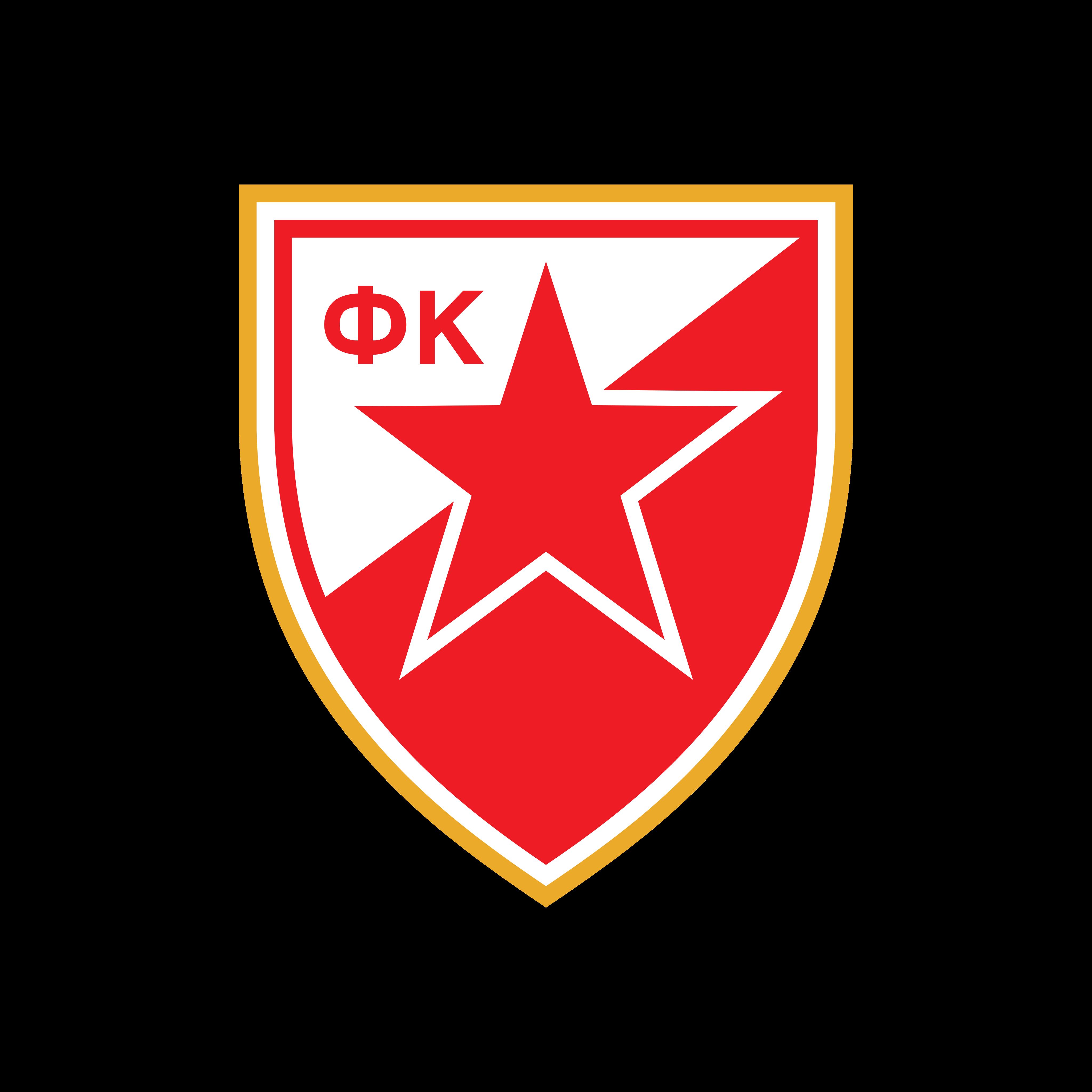 crvena zvezda logo 0 - FK Crvena zvezda - Red Star Belgrade - Logo