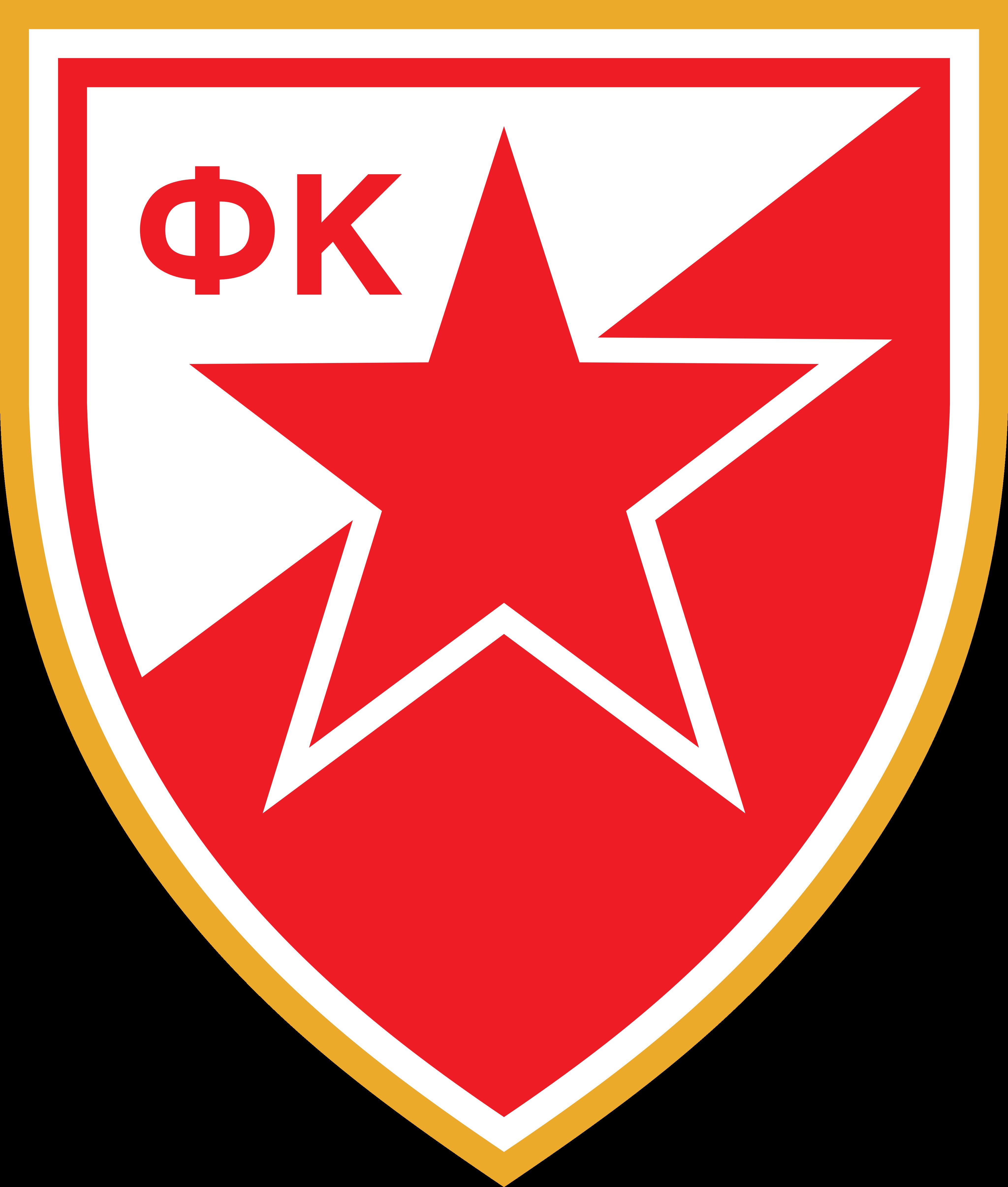 crvena zvezda logo 1 - FK Crvena zvezda - Red Star Belgrade - Logo
