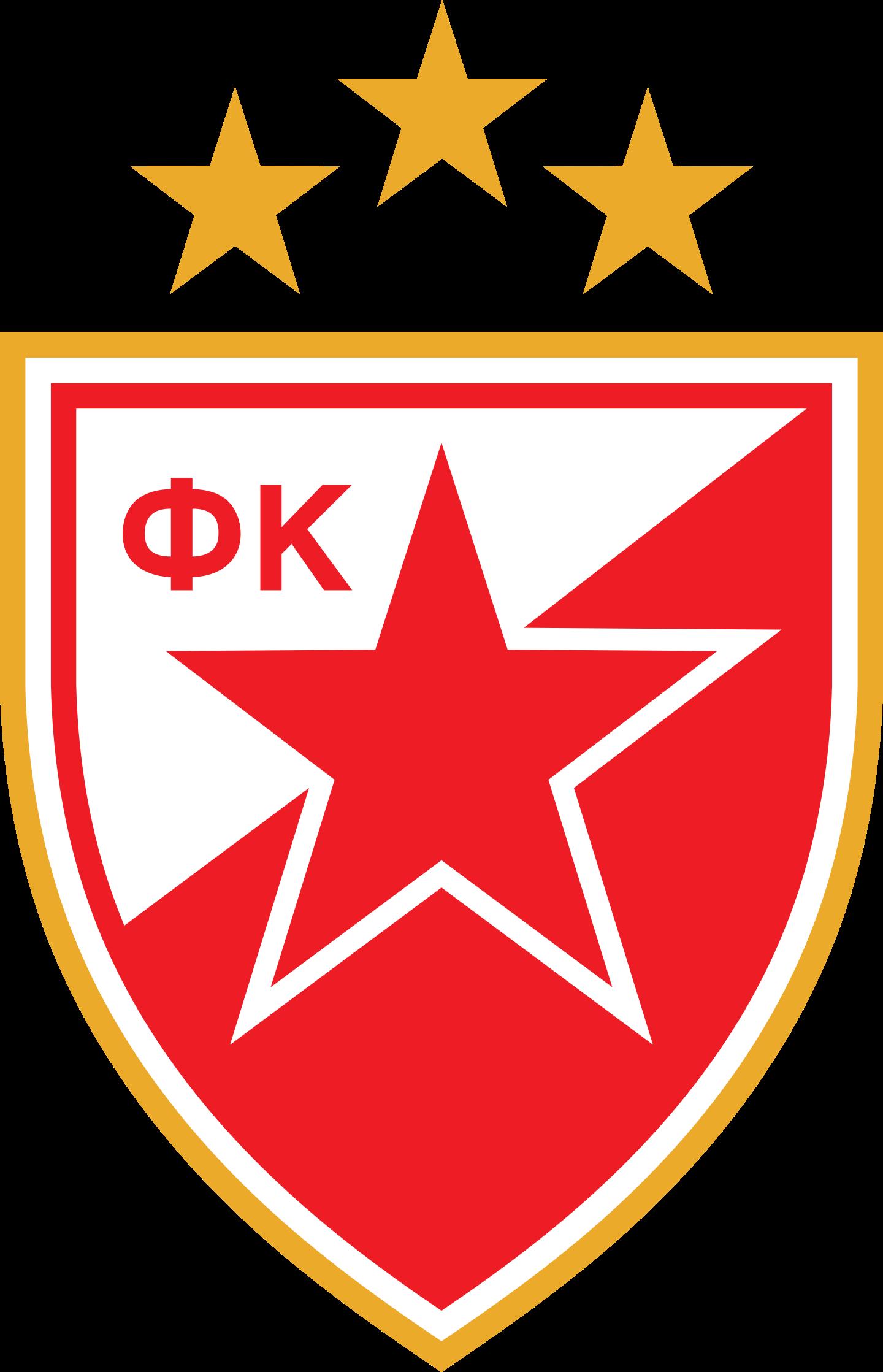 crvena zvezda logo 2 - FK Crvena zvezda - Red Star Belgrade - Logo