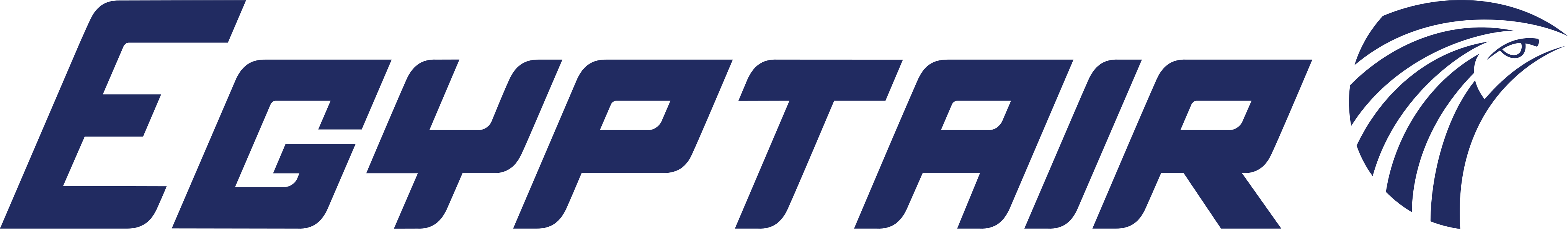 Egyptair logo.