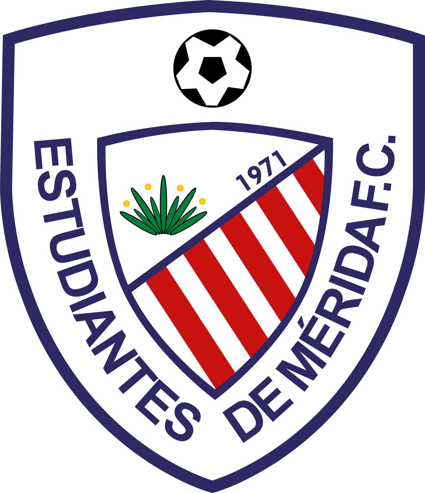 estudiantes de merida logo 2 - Estudiantes de Mérida Logo