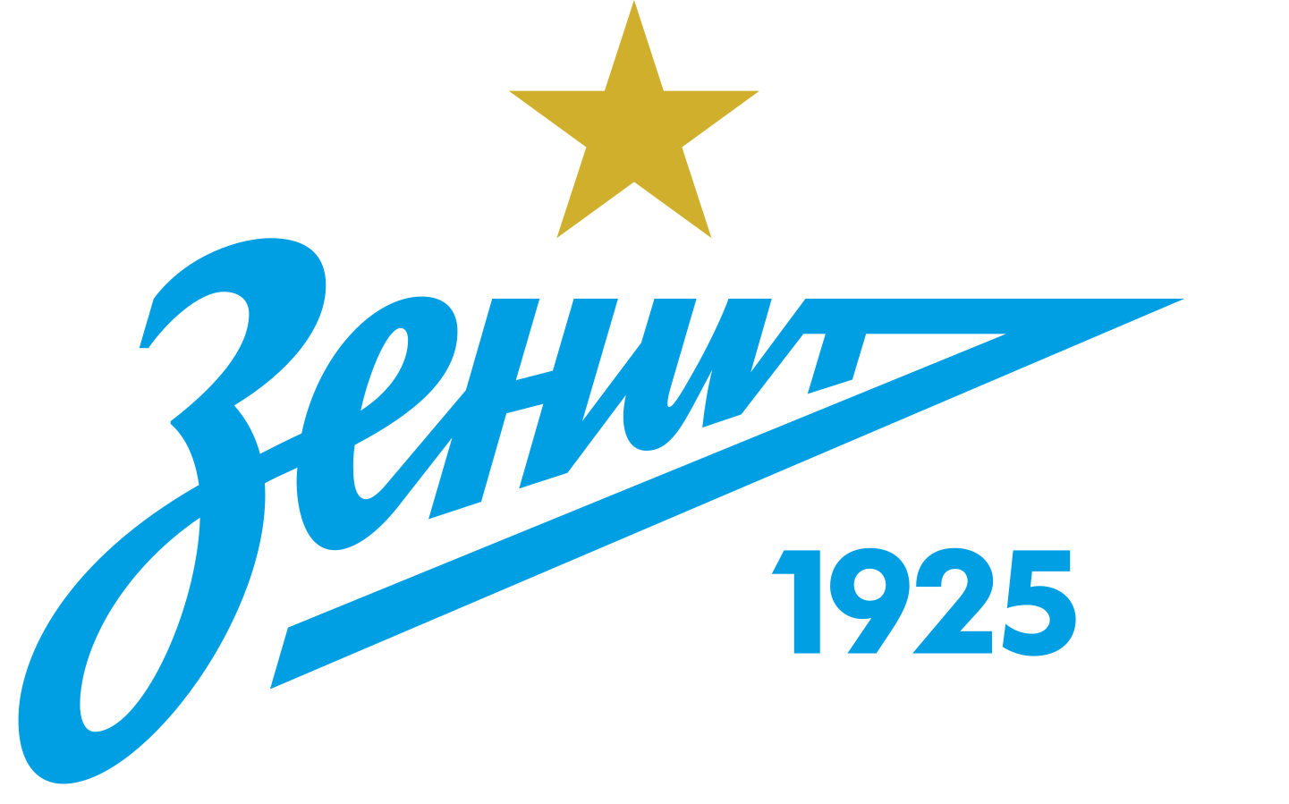 fc zenit logo 2 - FC Zenit Logo - Escudo