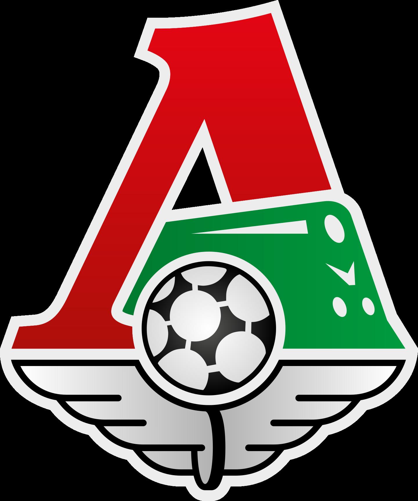 lokomotiv logo 2 - FC Lokomotiv Moscow Logo