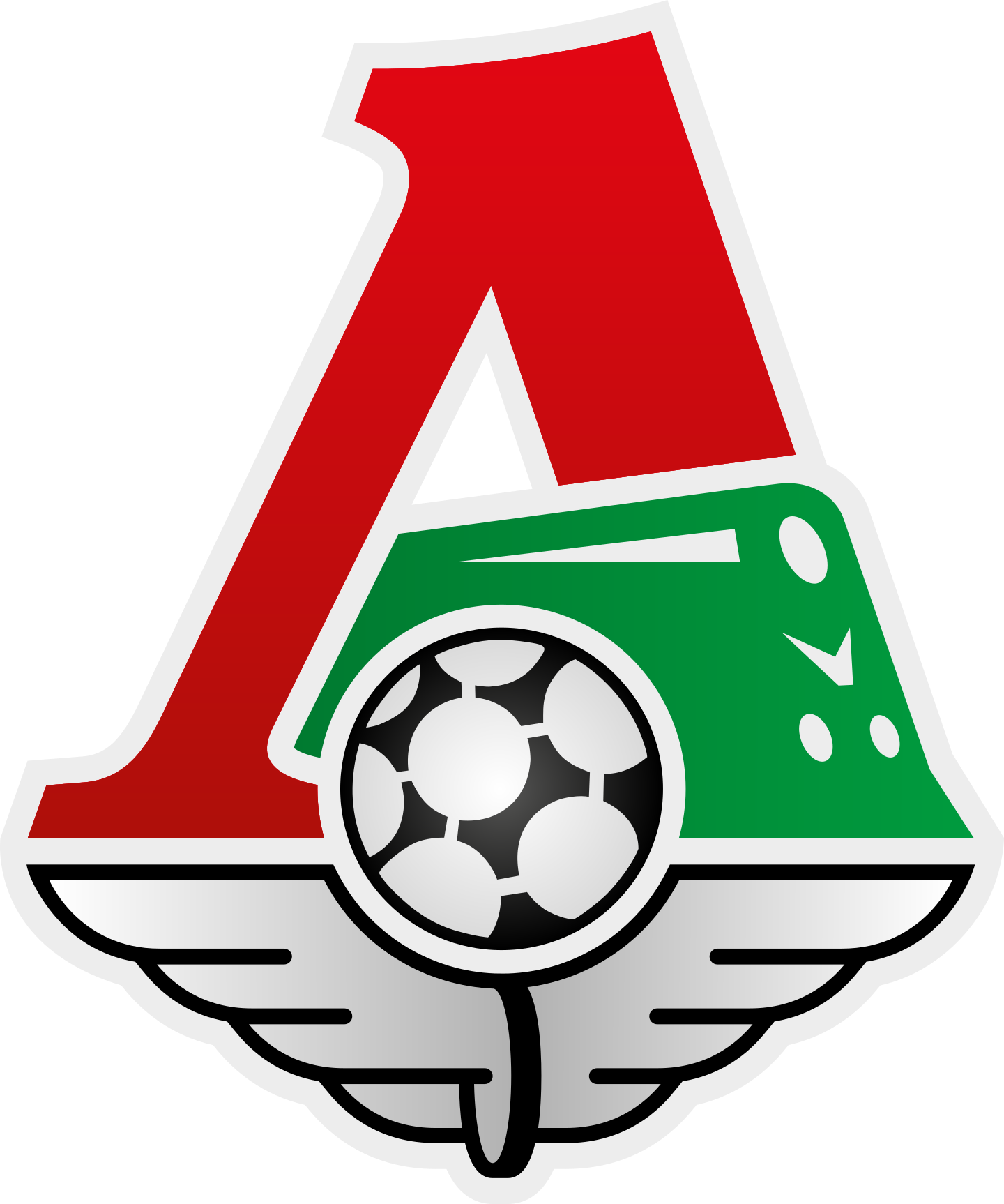 lokomotiv logo 2 - FC Lokomotiv Moscú Logo