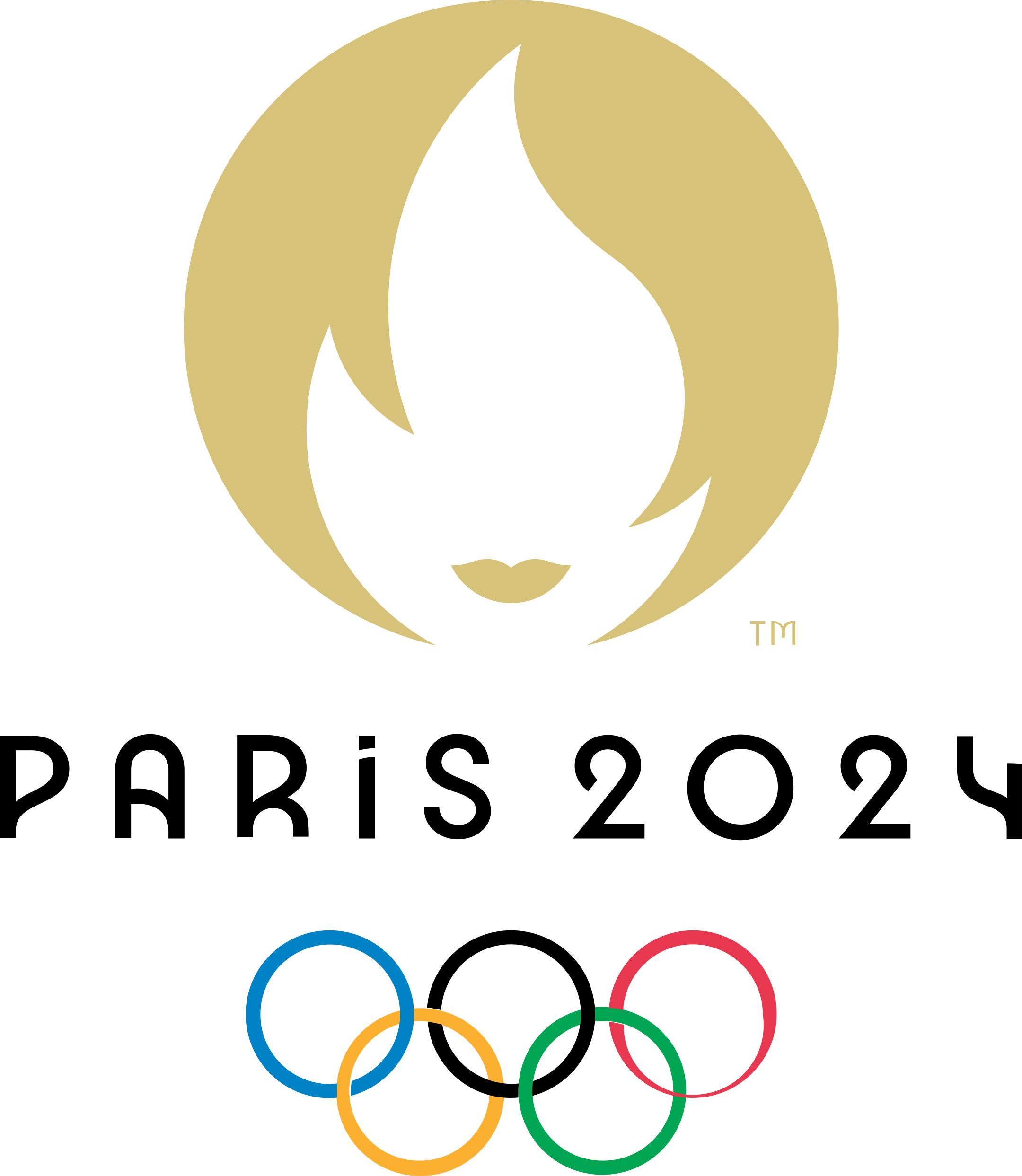 paris 2024 logo 1 - Paris 2024 Logo