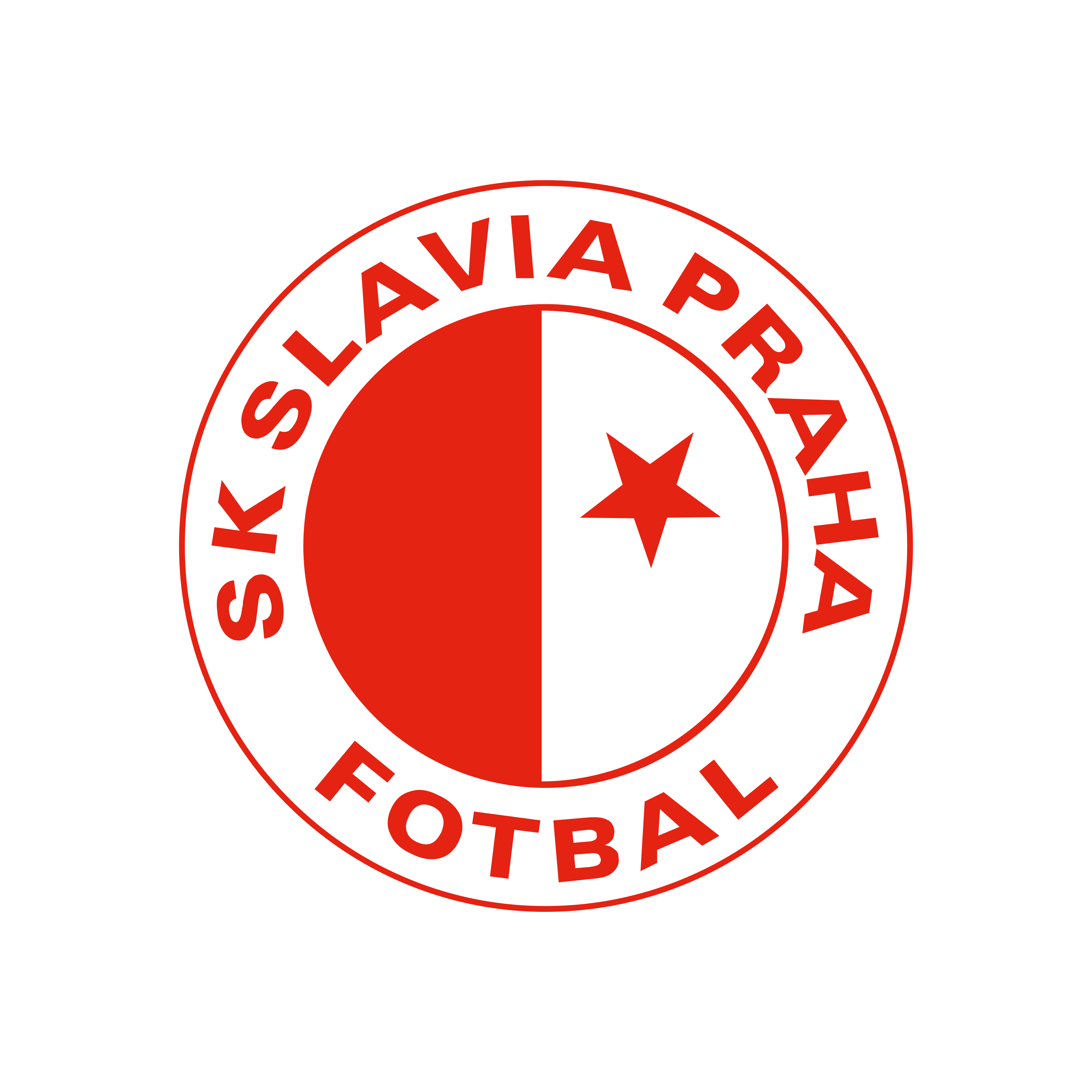 sk slavia praha logo 0 - SK Slavia Praga Logo - Escudo
