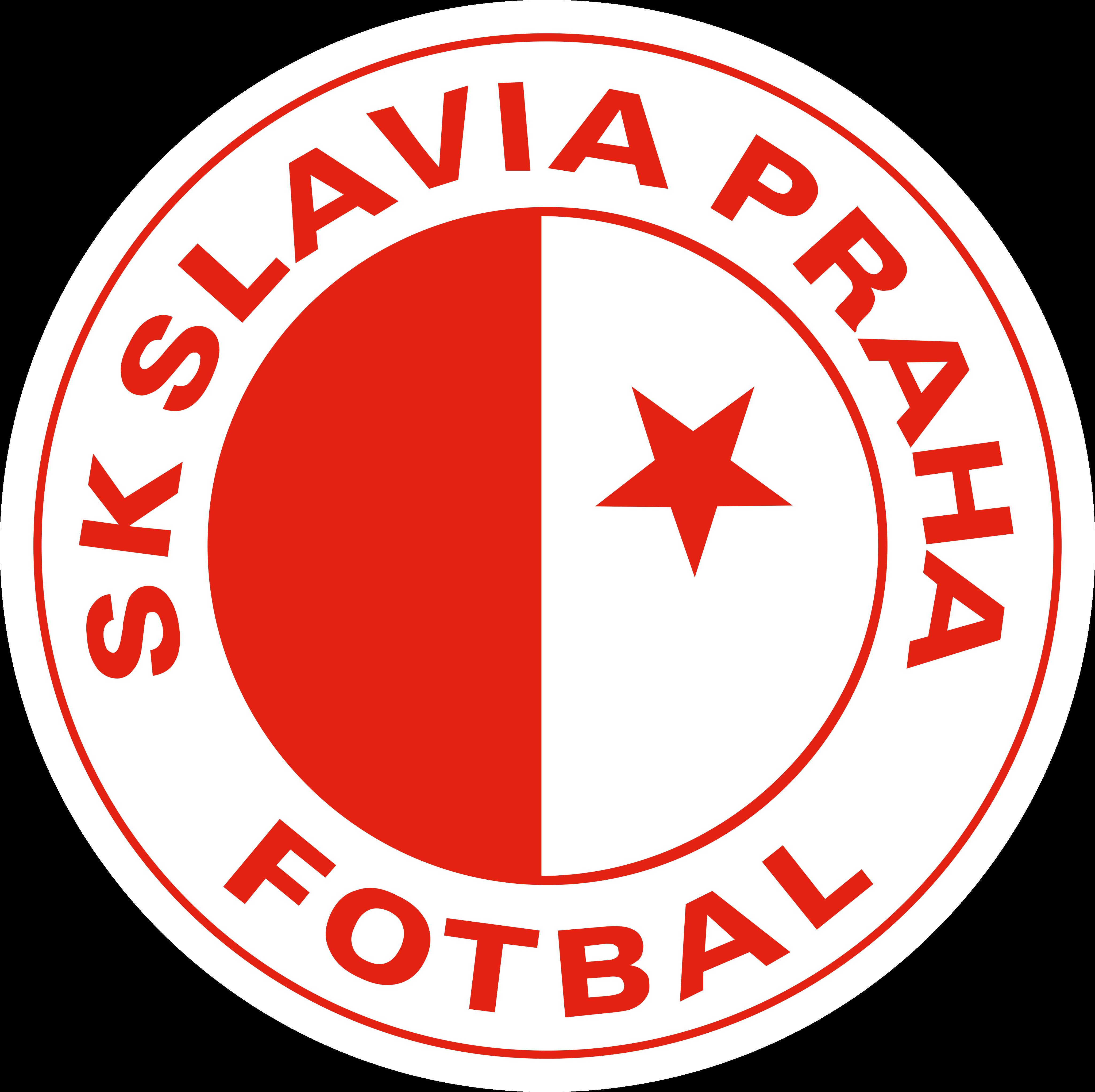 sk slavia praha logo - SK Slavia Praga Logo - Escudo