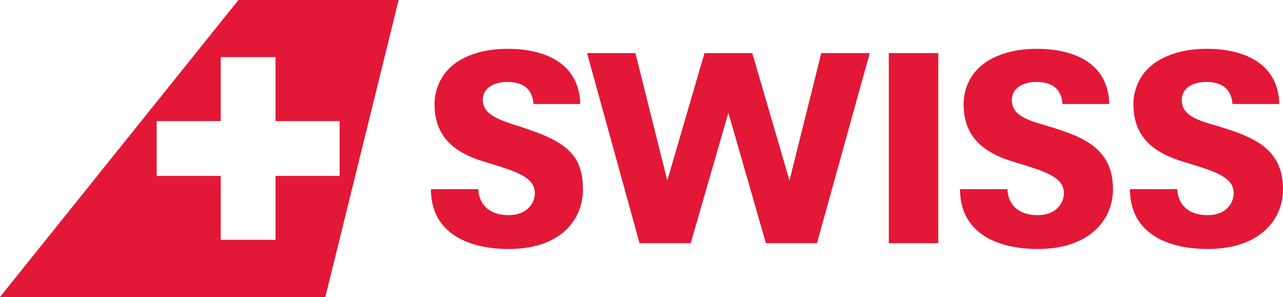 Swiss Air Lines Logo.