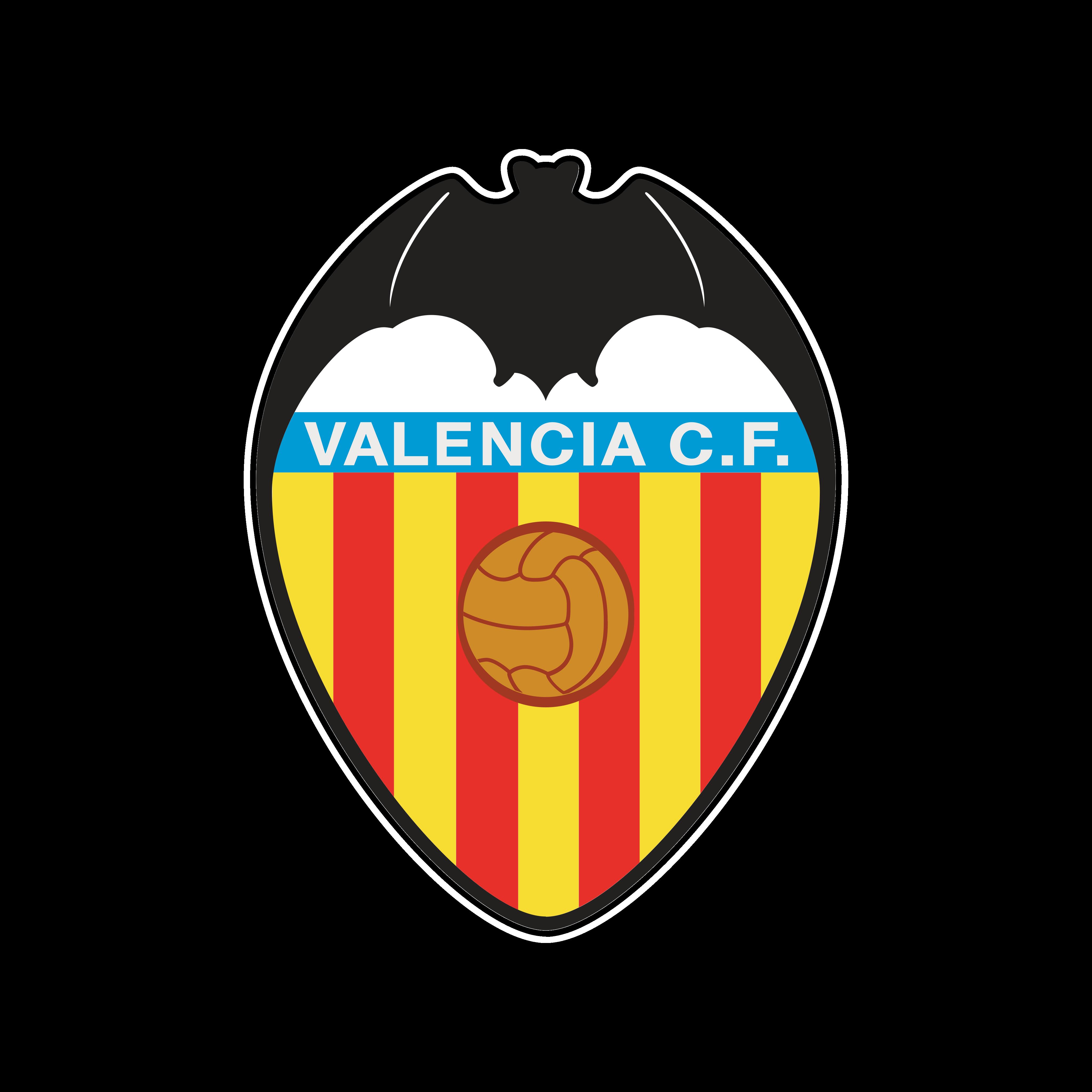 valencia cf logo escudo 0 - Valencia CF Logo – Escudo